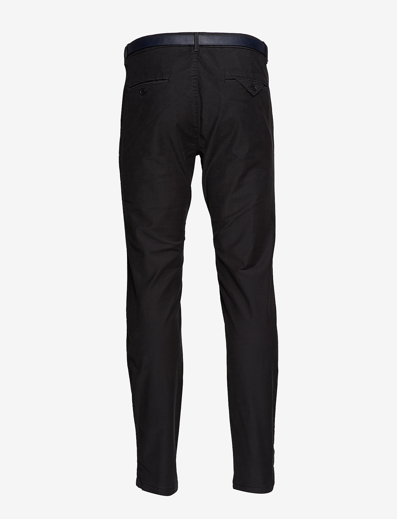 Scotch & Soda - STUART - Classic garment-dyed twill chino - charcoal - 1