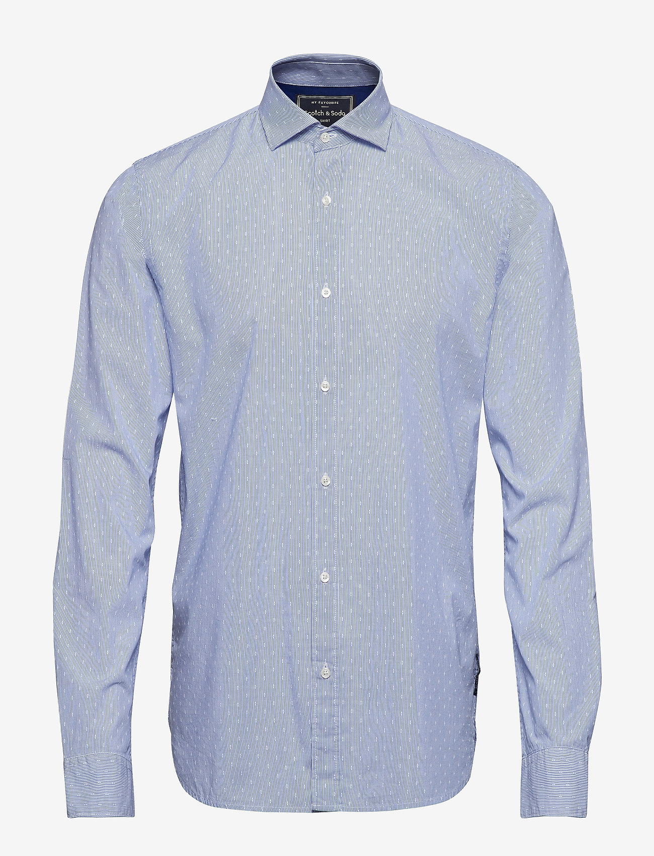 Scotch & Soda - REGULAR FIT- Classic dress shirt in blue - chemises d'affaires - combo d - 0