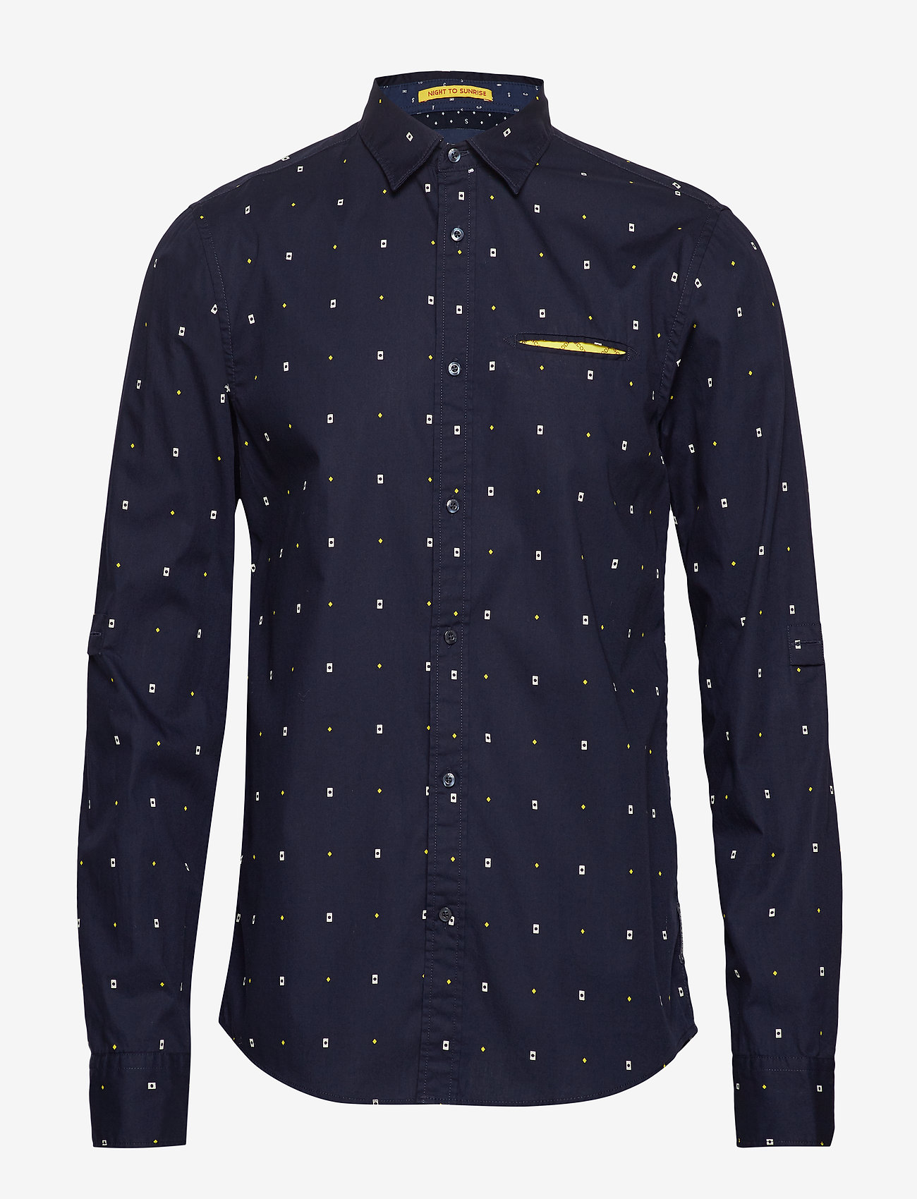 Scotch & Soda - REGULAR FIT- Classic all-over printed pochet shirt - chemises d'affaires - combo a - 0