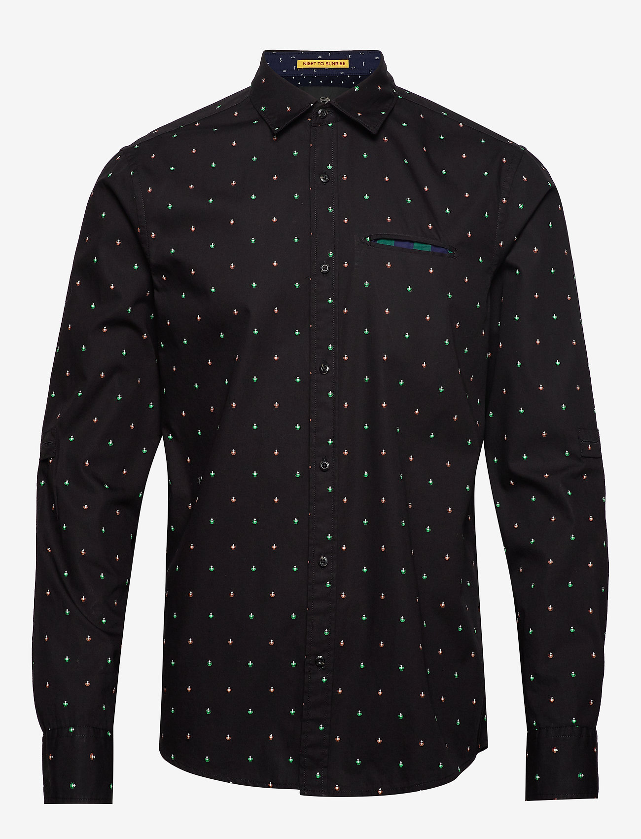 Scotch & Soda - REGULAR FIT- Classic all-over printed pochet shirt - chemises d'affaires - combo e - 0