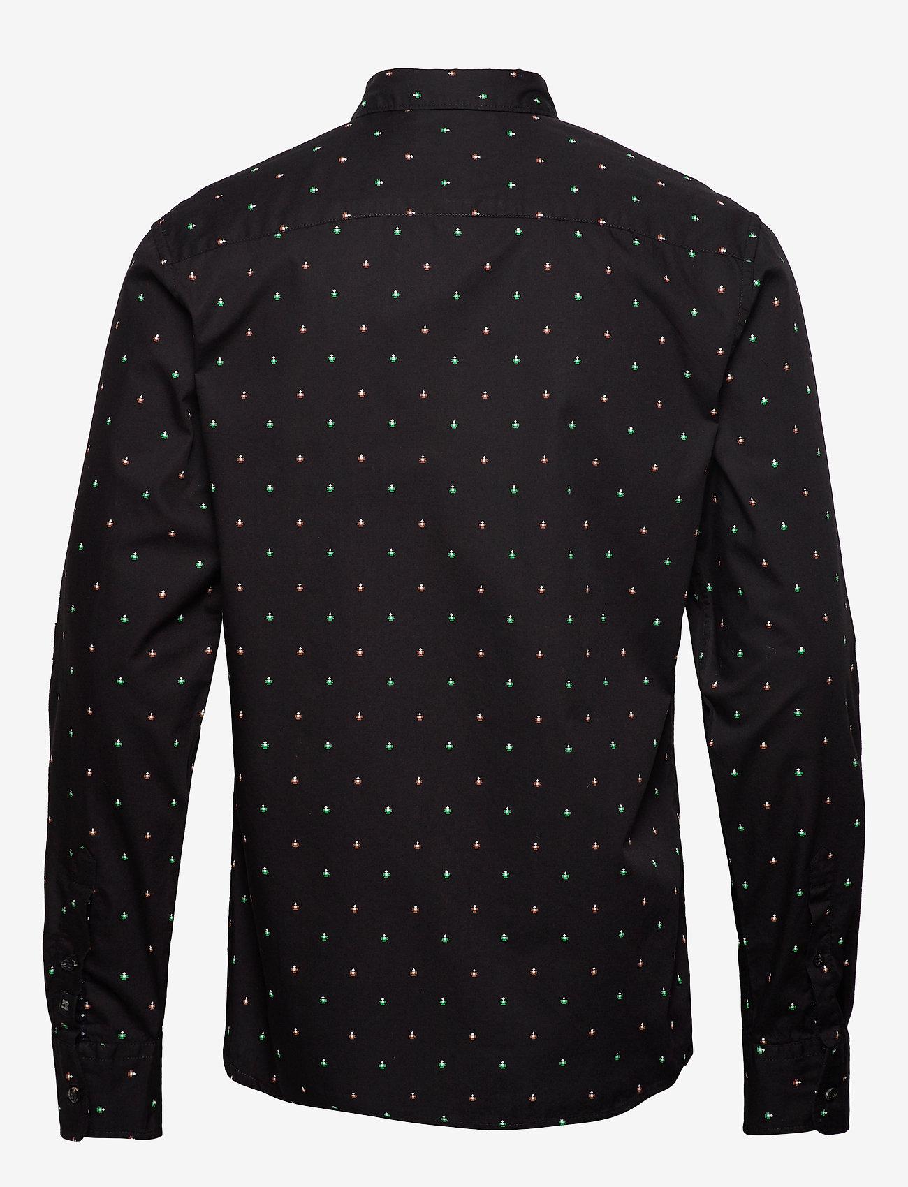 Scotch & Soda - REGULAR FIT- Classic all-over printed pochet shirt - chemises d'affaires - combo e - 1