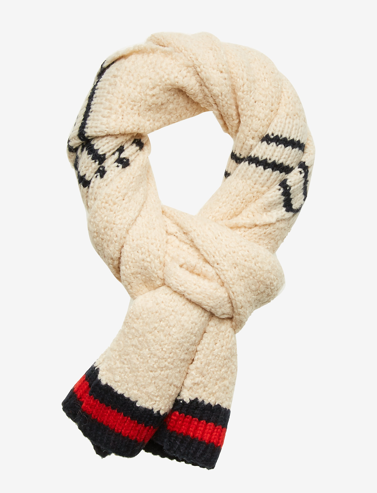 Scotch & Soda - Knitted teddy scarf - scarves - combo a - 0
