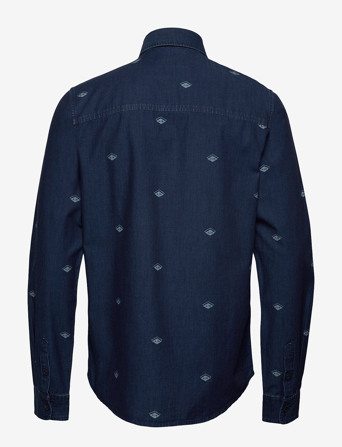 Scotch & Soda - Indigo shirt with artworks - chemises en jean - combo b - 1