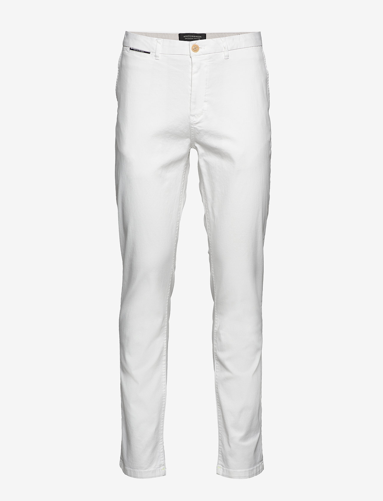 Scotch & Soda - STUART- Classic chino - chinos - denim white - 0