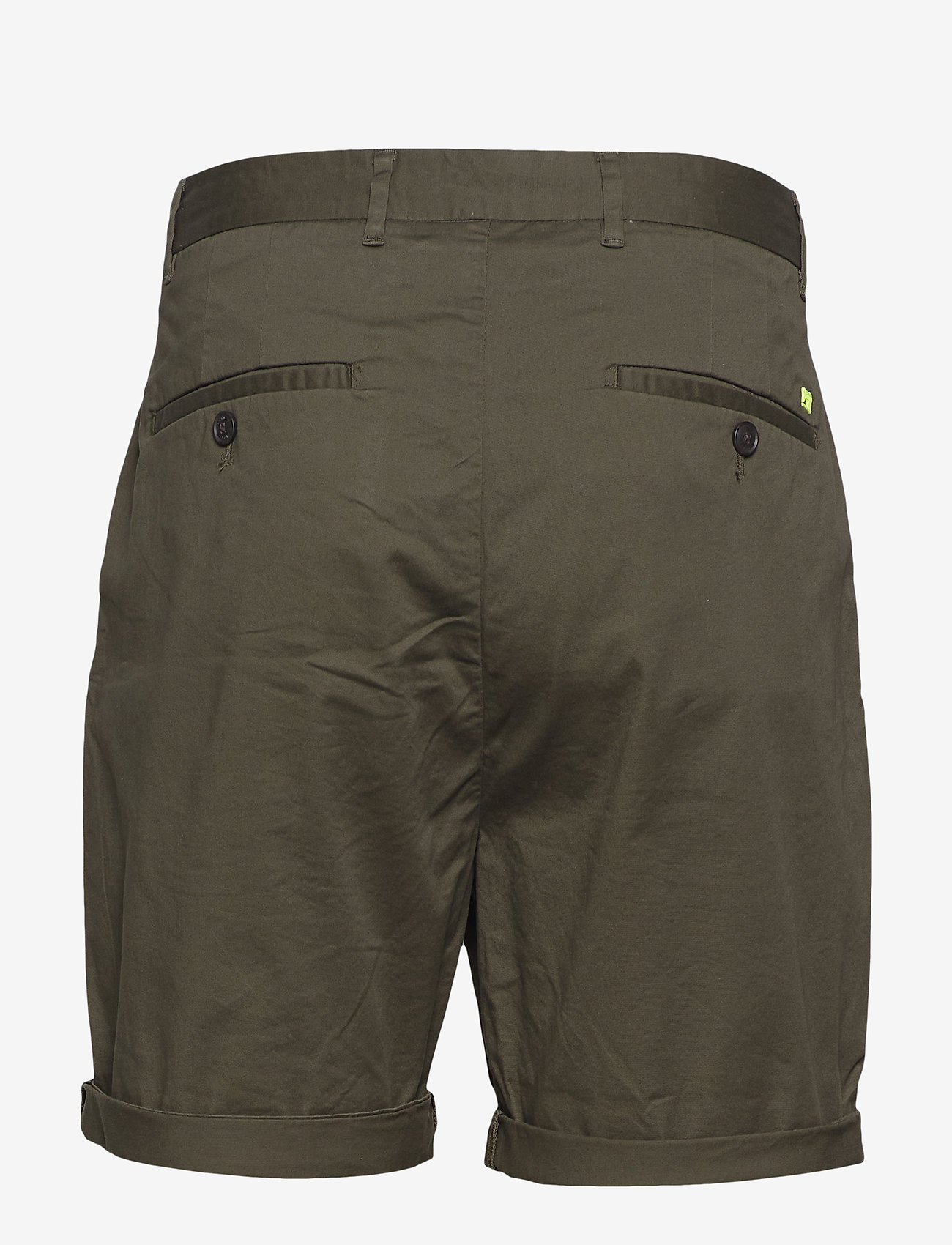 Scotch & Soda - Mid length - Classic chino short in pima cotton quality - chinos shorts - military - 1