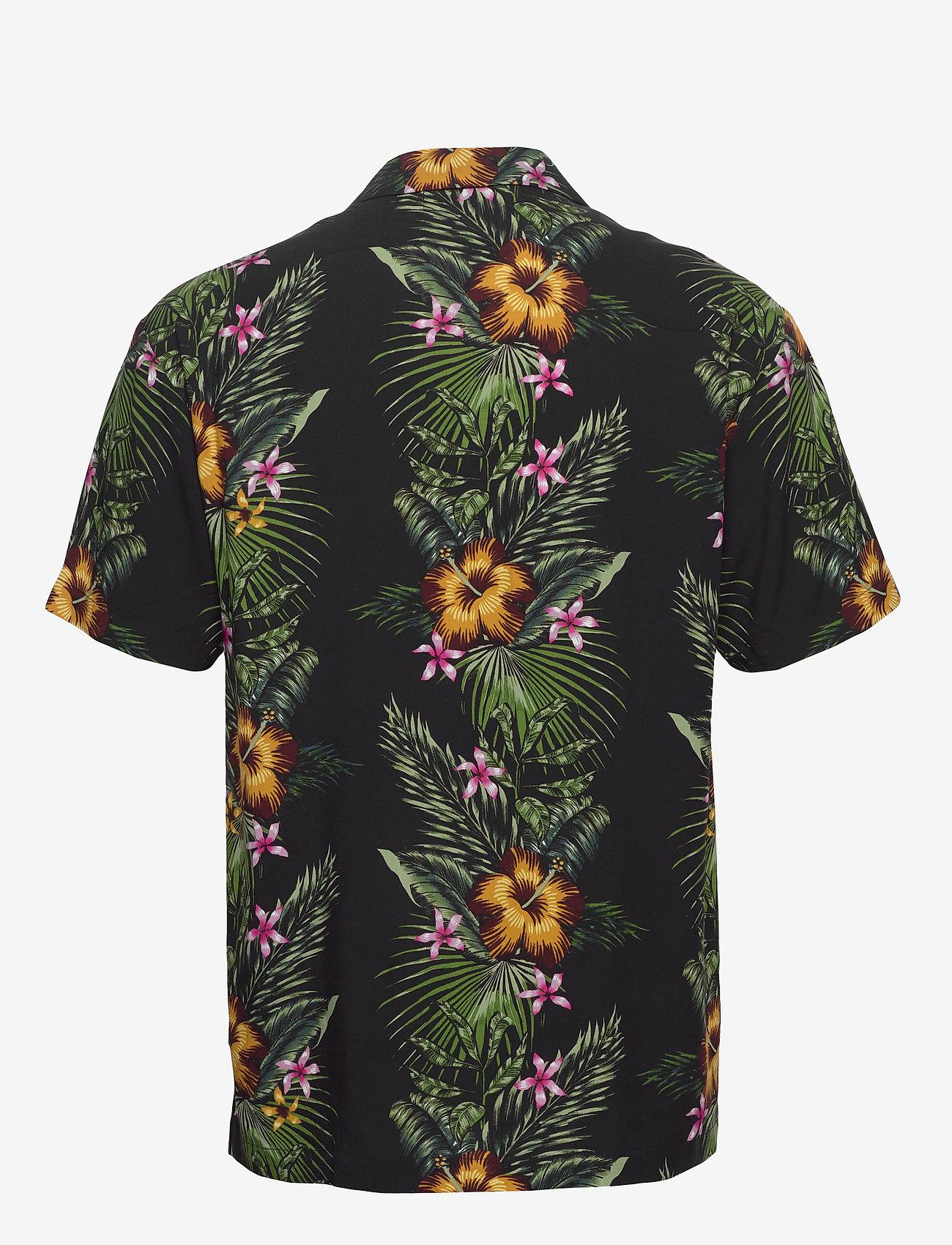 Scotch & Soda - HAWAII FIT-  Shorstleeve shirt with Hawaiian flower print - kortærmede skjorter - combo a - 1