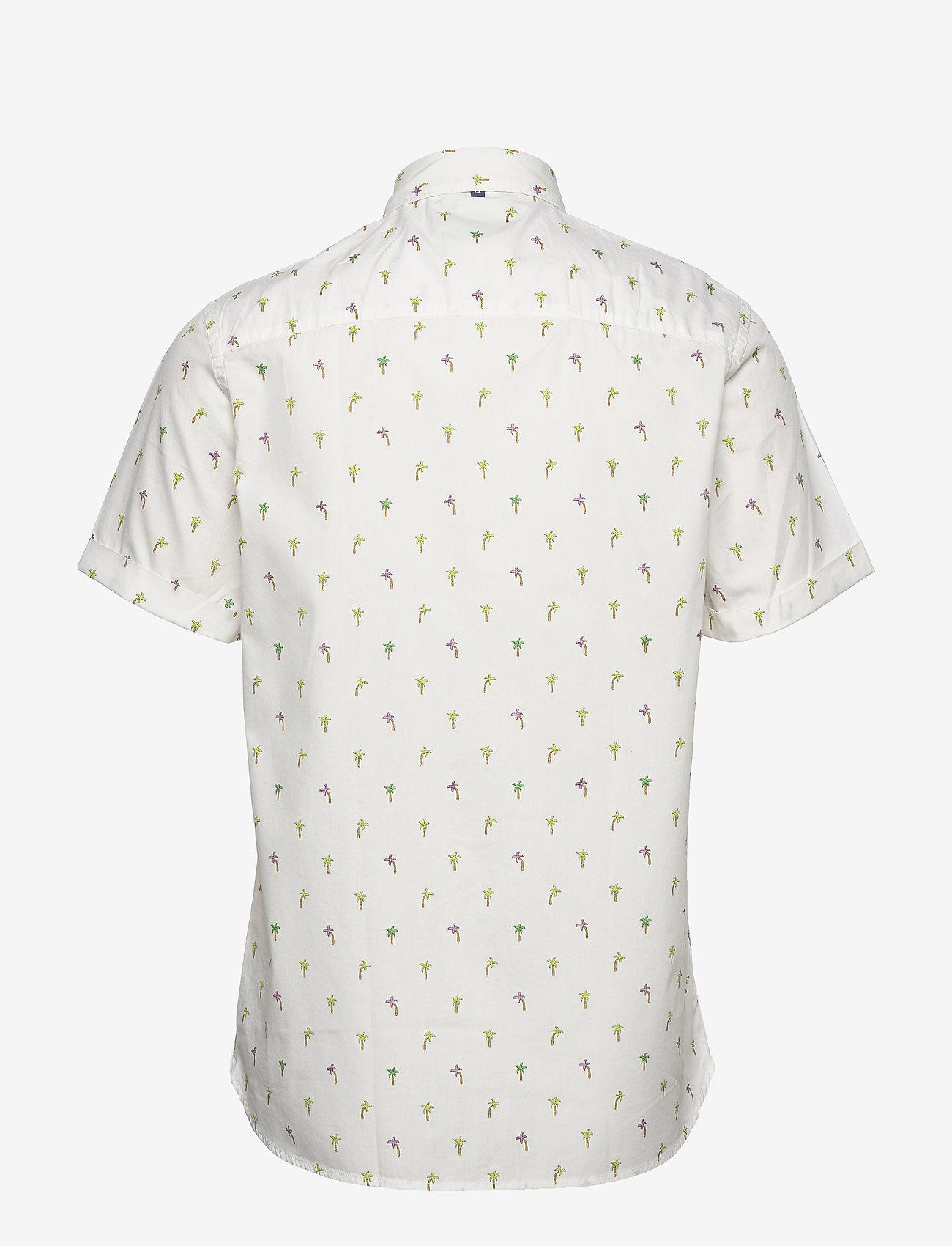 Scotch & Soda - REGULAR FIT- All-over printed shortsleeve shirt - kortærmede skjorter - combo d - 1