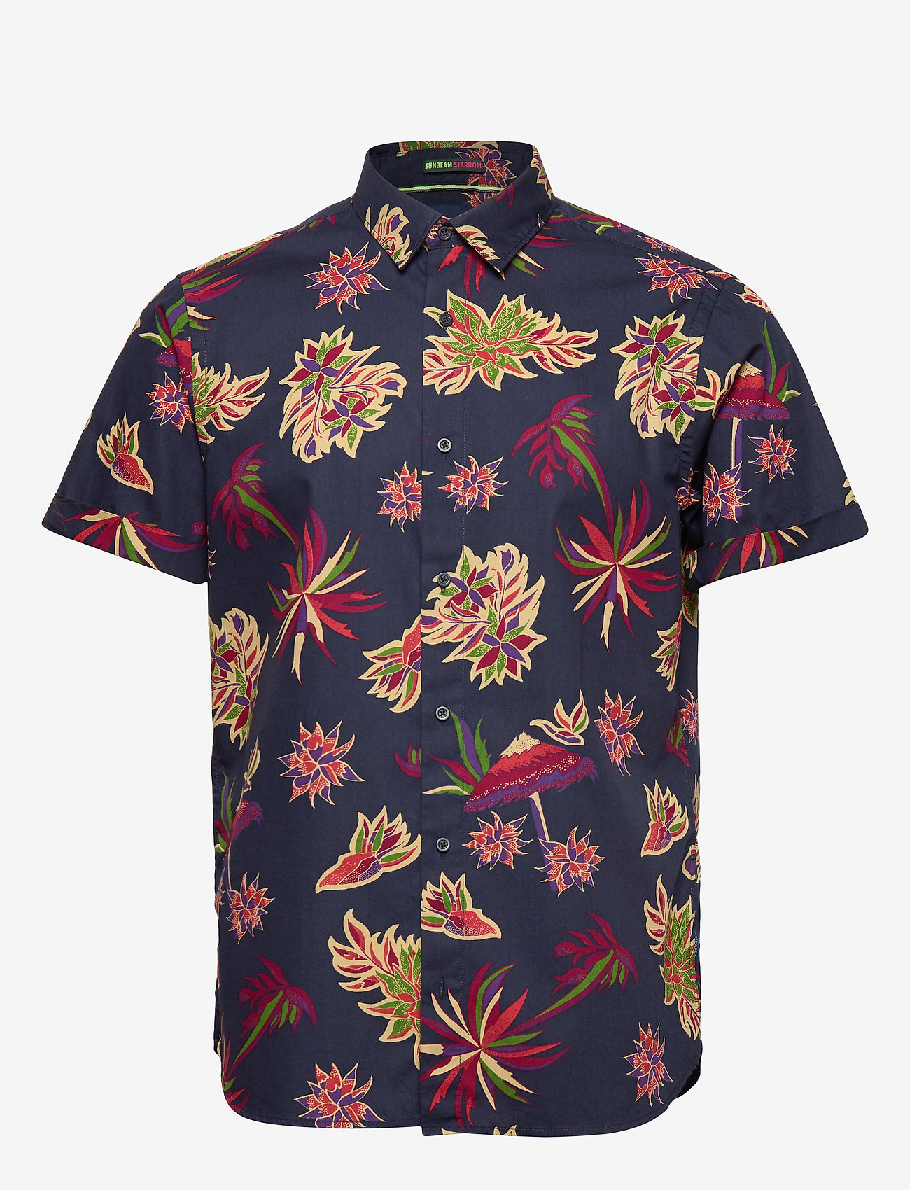 Scotch & Soda - REGULAR FIT- All-over printed shortsleeve shirt - kortærmede skjorter - combo h - 0