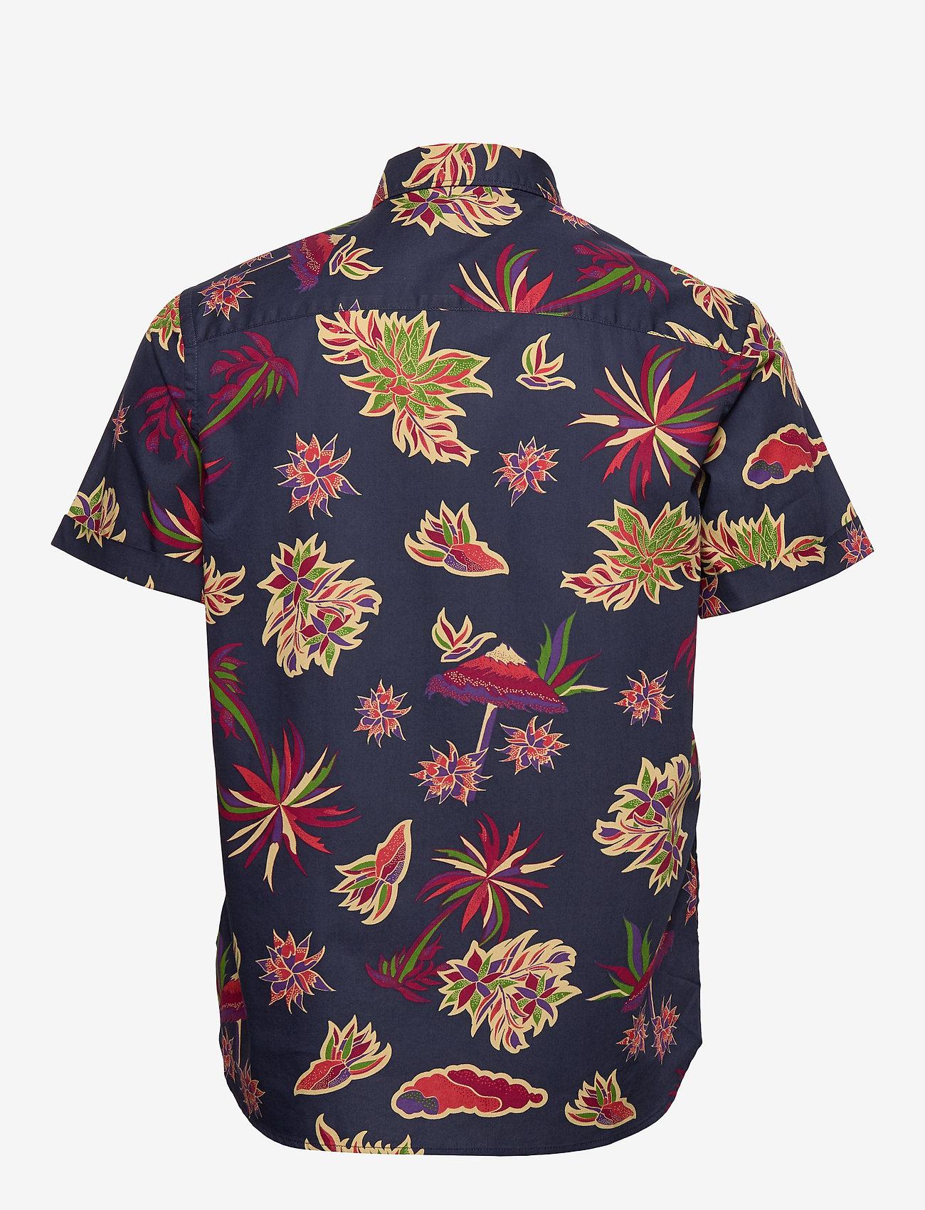 Scotch & Soda - REGULAR FIT- All-over printed shortsleeve shirt - kortærmede skjorter - combo h - 1