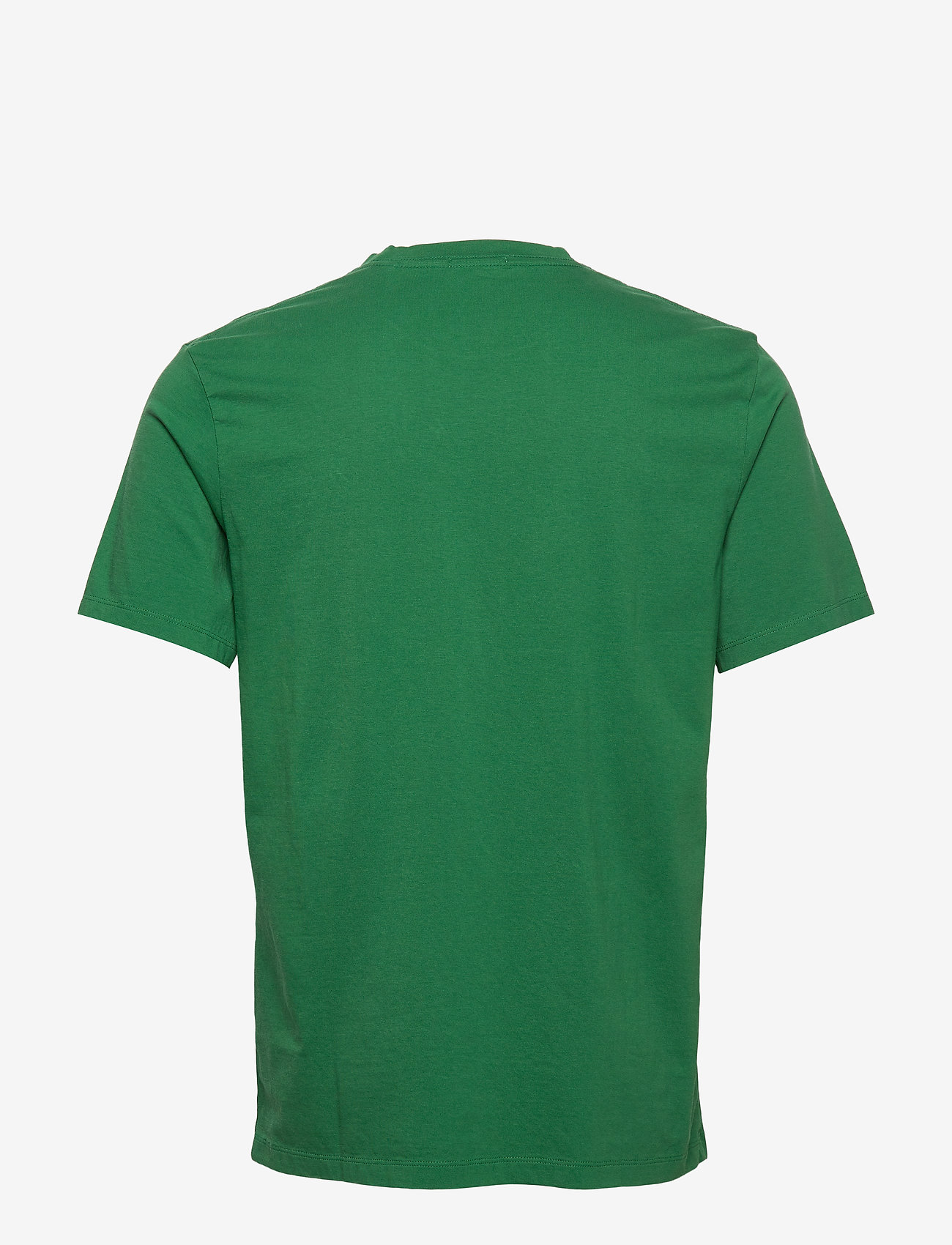 Scotch & Soda - Classic crewneck tee in organic cotton jersey - basic t-shirts - fern - 1