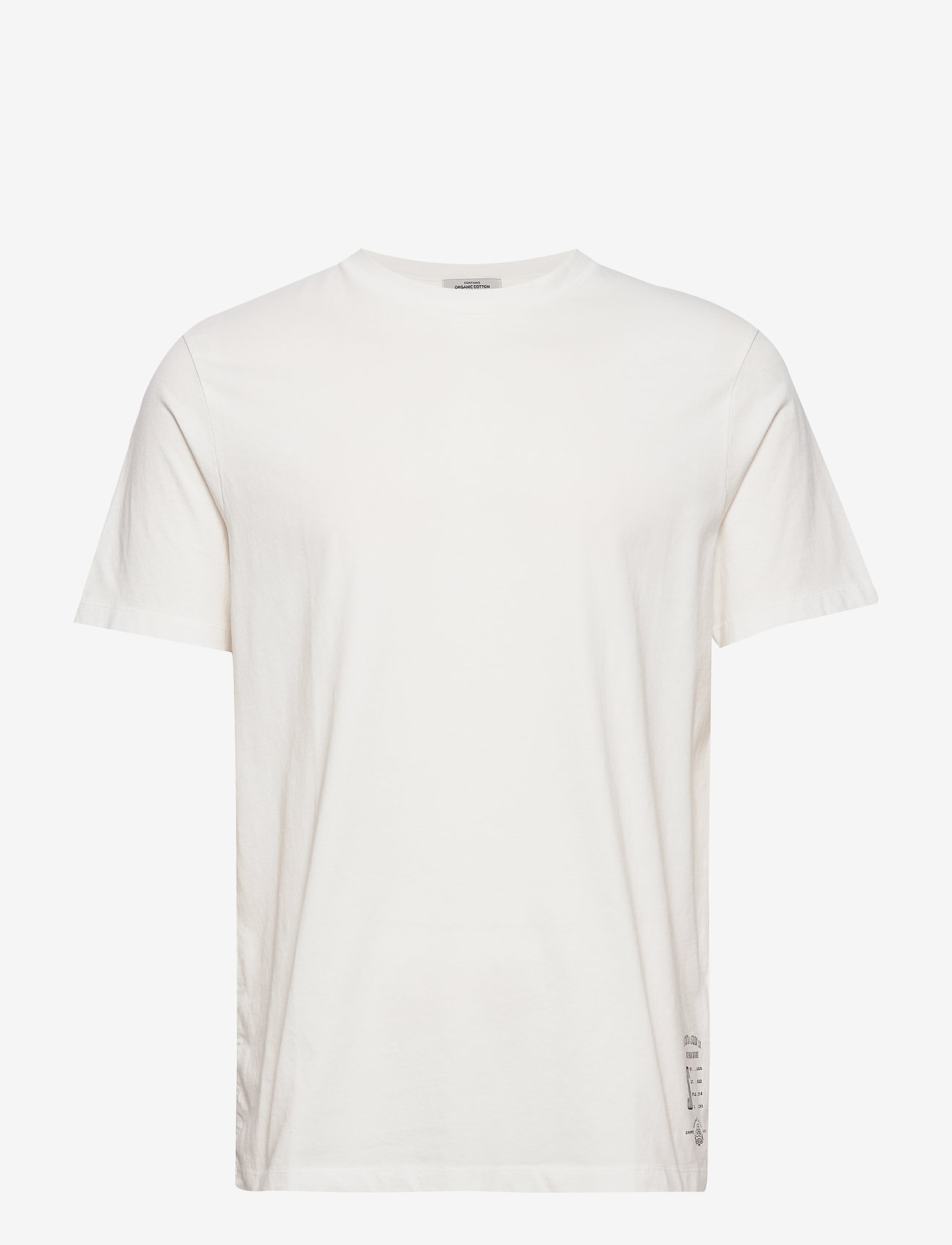 Scotch & Soda - Classic crewneck tee in organic cotton jersey - basic t-shirts - raw cotton - 0
