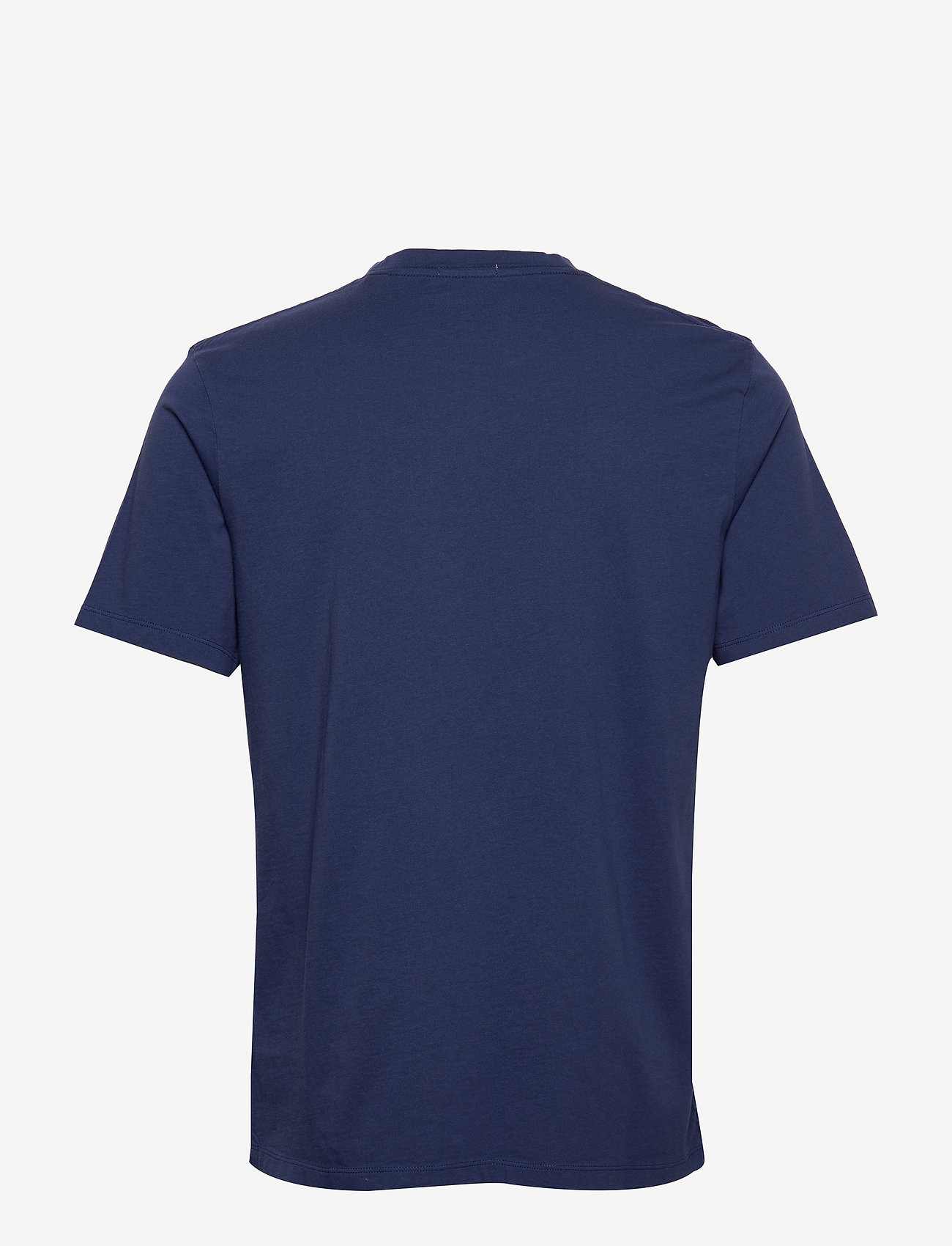 Scotch & Soda - Classic crewneck tee in organic cotton jersey - t-shirts basiques - worker blue - 1
