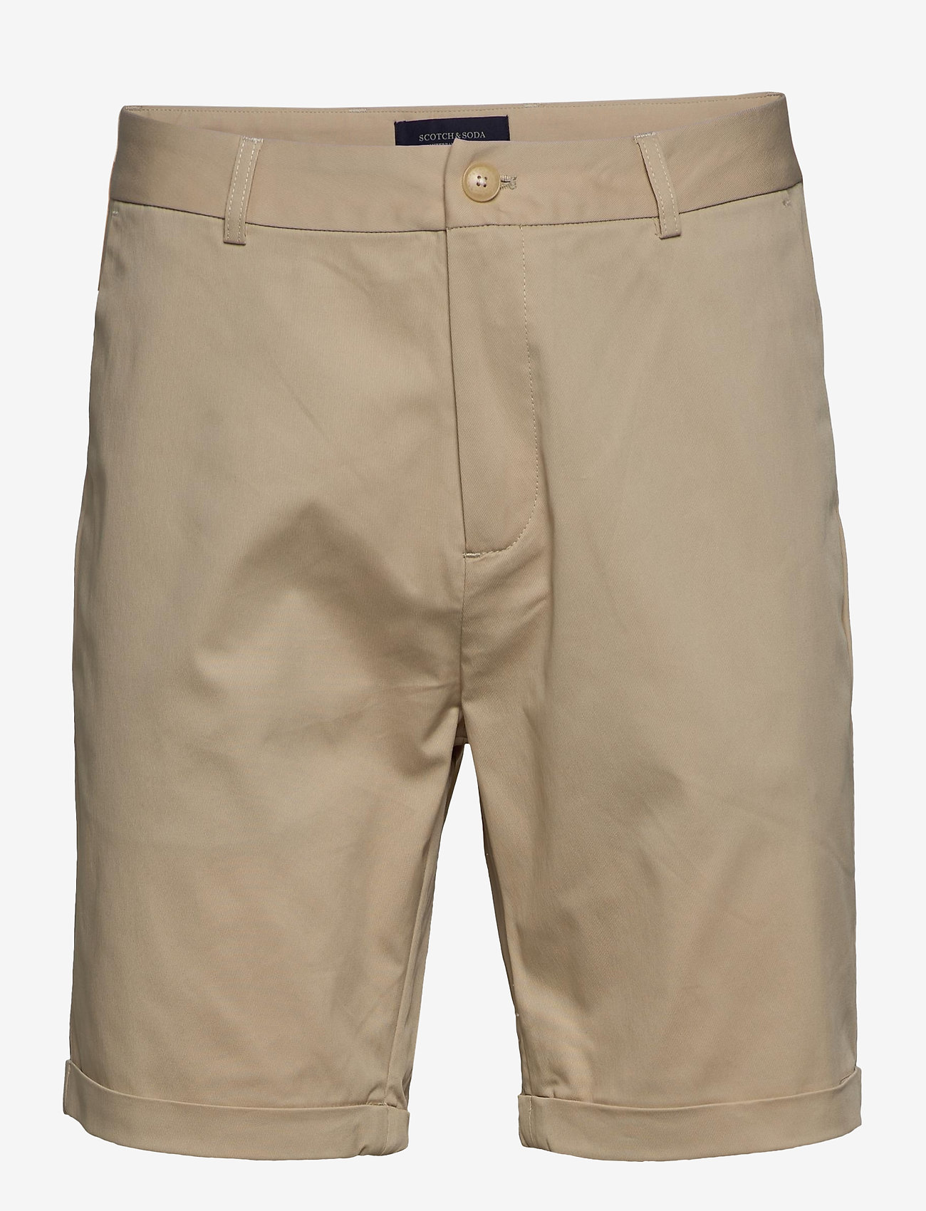Scotch & Soda - City beach short - chinos shorts - sand - 0