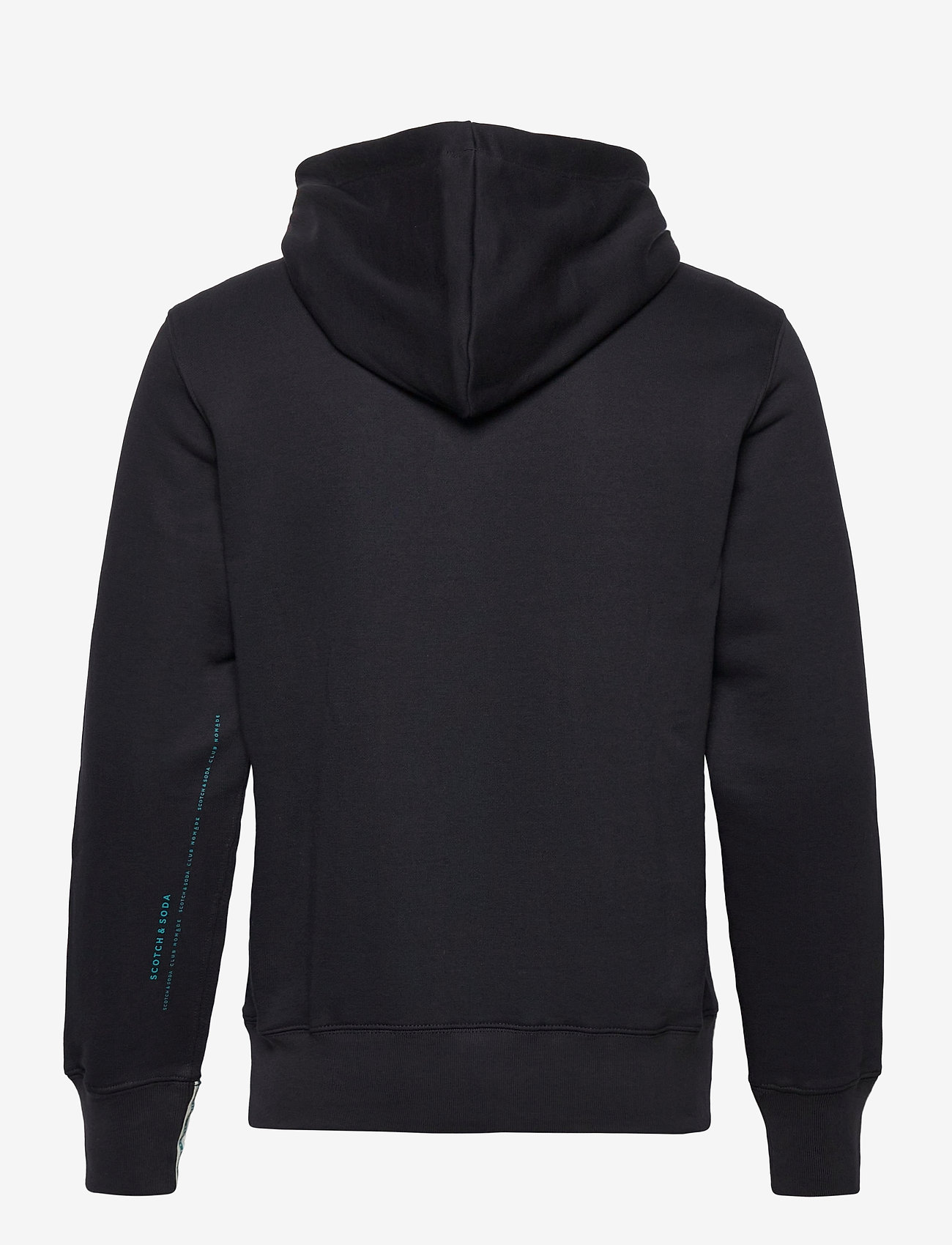 Scotch & Soda - Club Nomade sweat hoody with kangaroo pockets - hoodies - midnight - 1