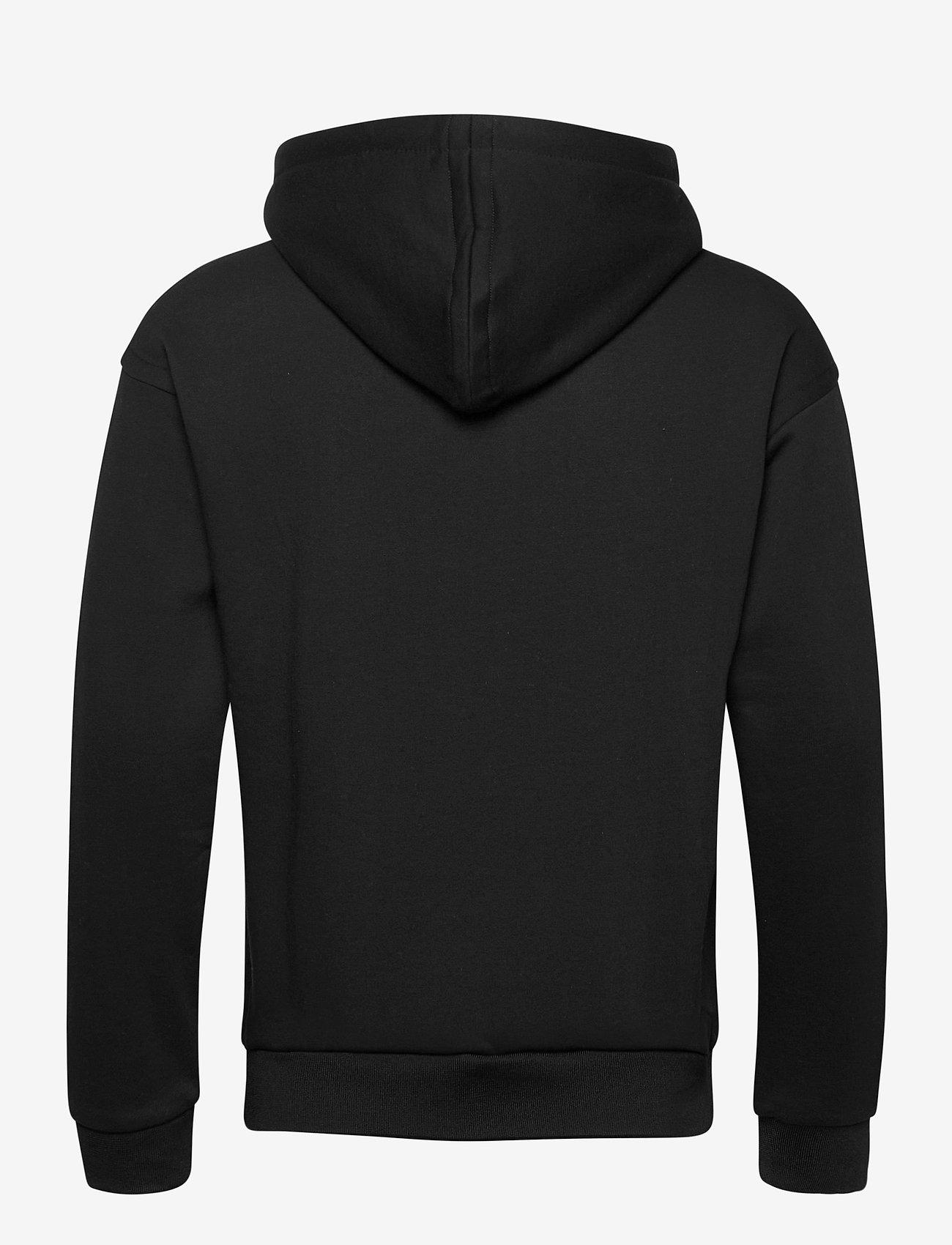 Scotch & Soda - Scotch & Soda hooded sweat - hoodies - black - 1