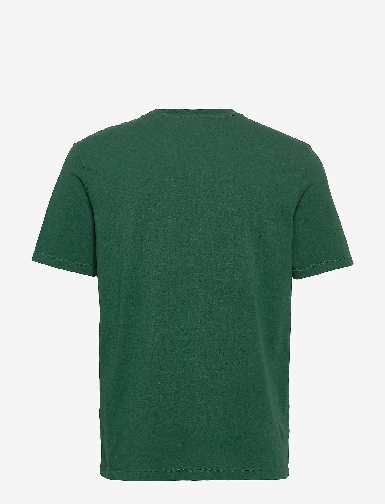 Scotch & Soda - Scotch & Soda crew neck logo tee - short-sleeved t-shirts - jungle green - 1