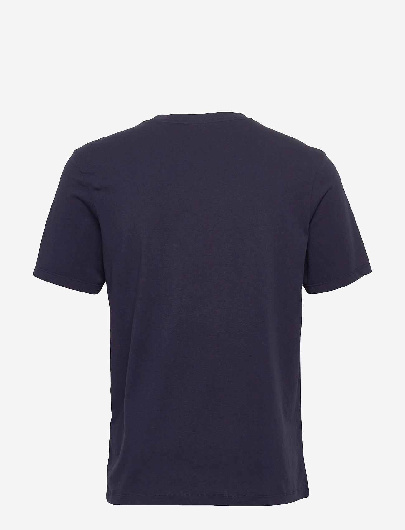 Scotch & Soda - Scotch & Soda crew neck logo tee - short-sleeved t-shirts - night - 1