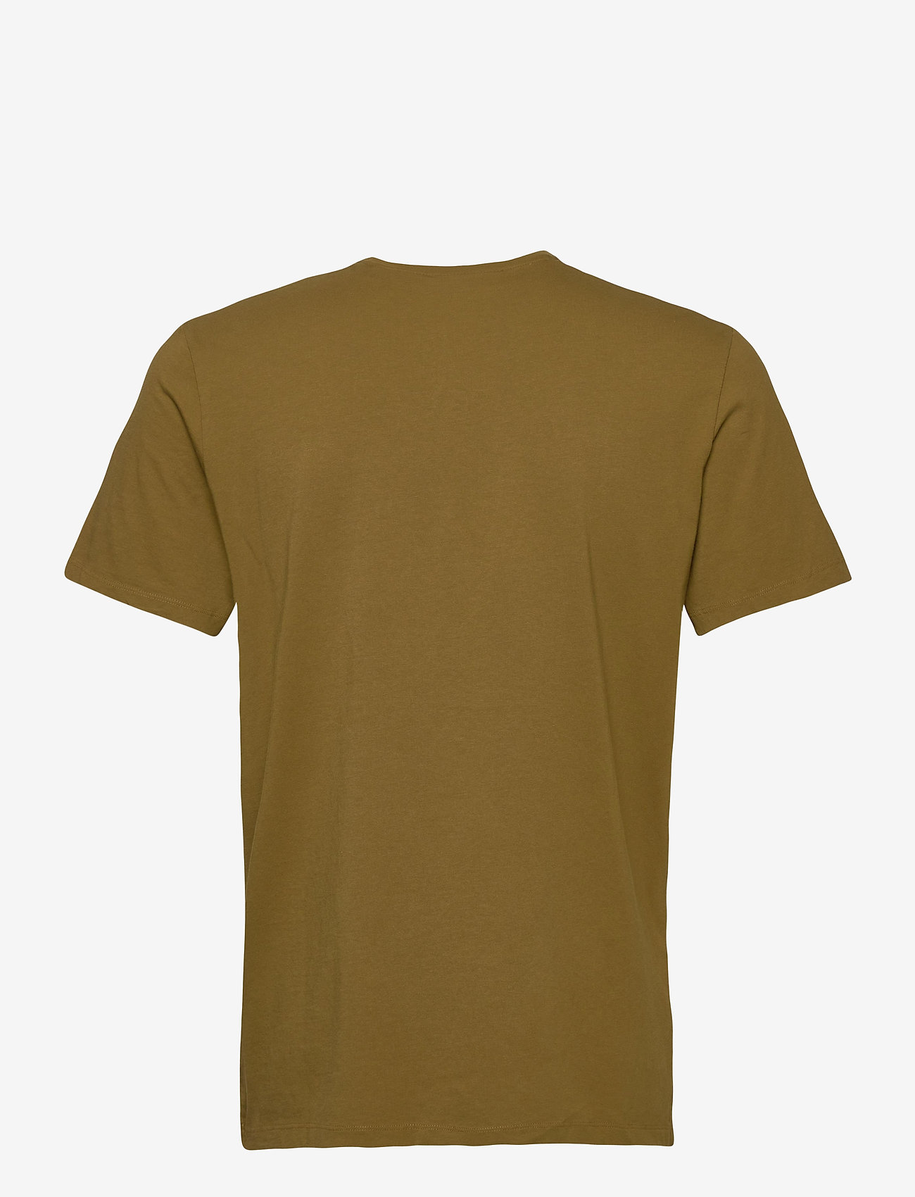 Scotch & Soda - Fabric dyed pocket tee - basic t-shirts - military green - 1