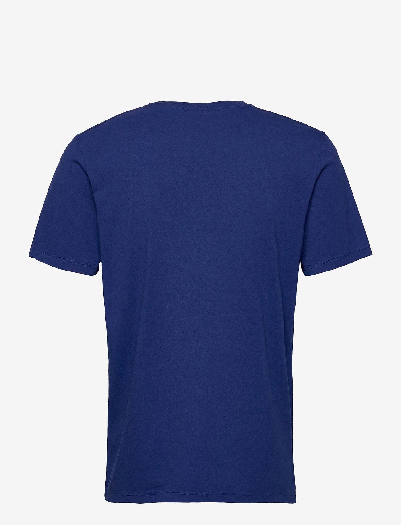 Scotch & Soda - Fabric dyed pocket tee - basic t-shirts - yinmin blue - 1
