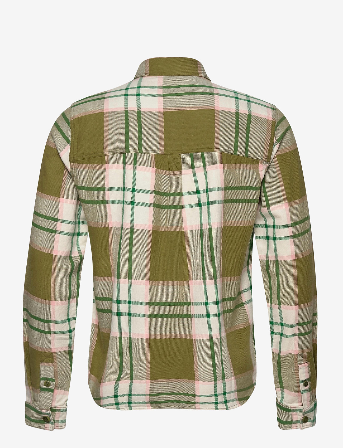 Scotch & Soda - Longsleeve shirt in mid weight flannel - checkered shirts - combo a - 1