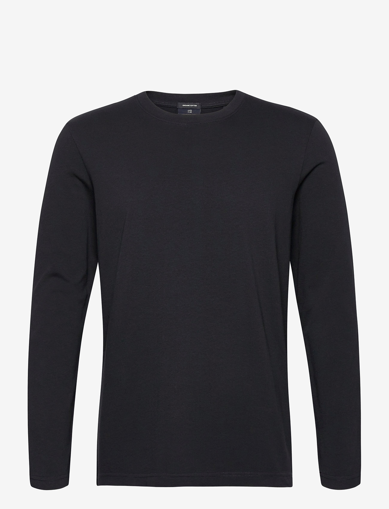 Scotch & Soda - Longsleeve tee in heavy organic cotton - basic t-shirts - antra - 0