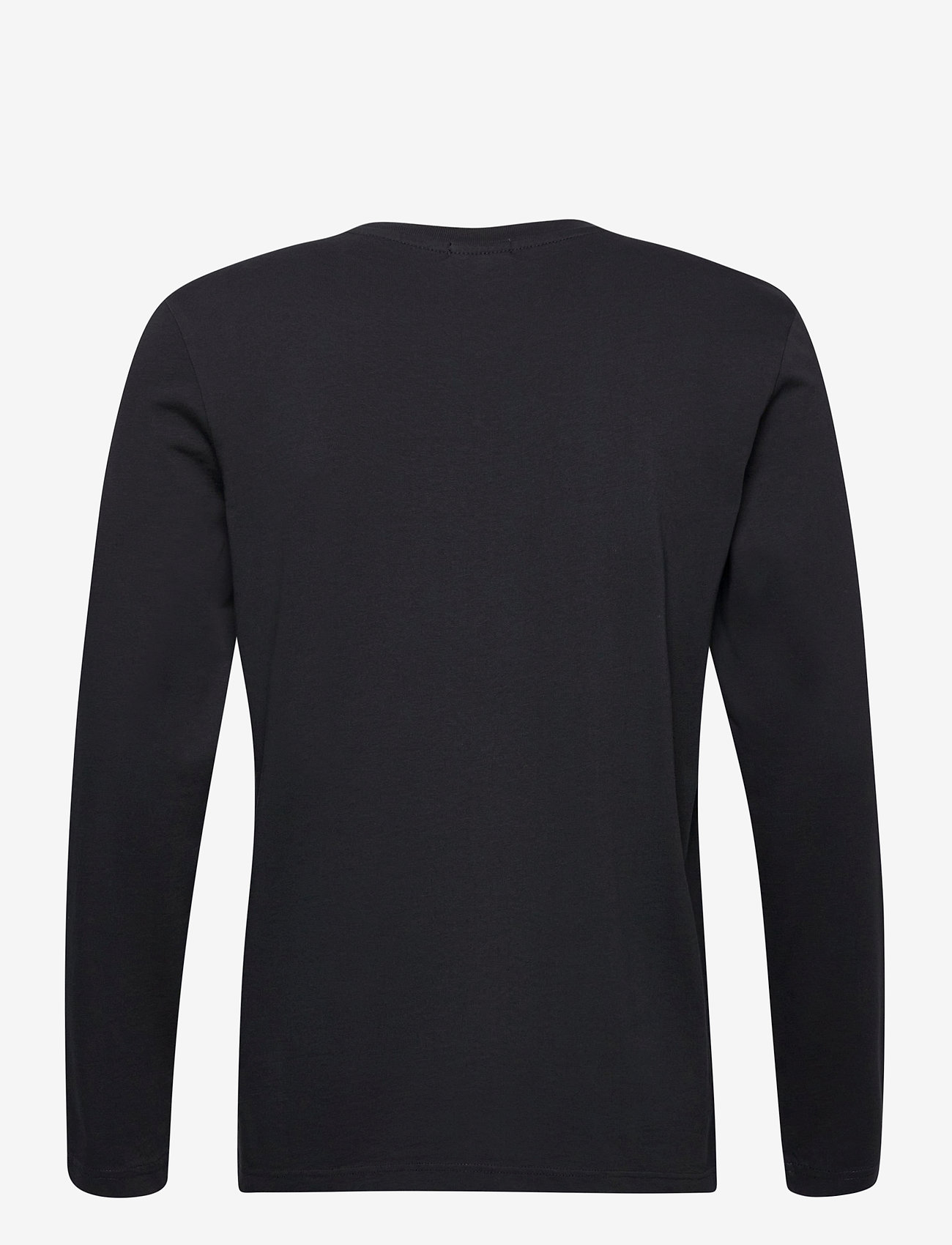 Scotch & Soda - Longsleeve tee in heavy organic cotton - basic t-shirts - antra - 1