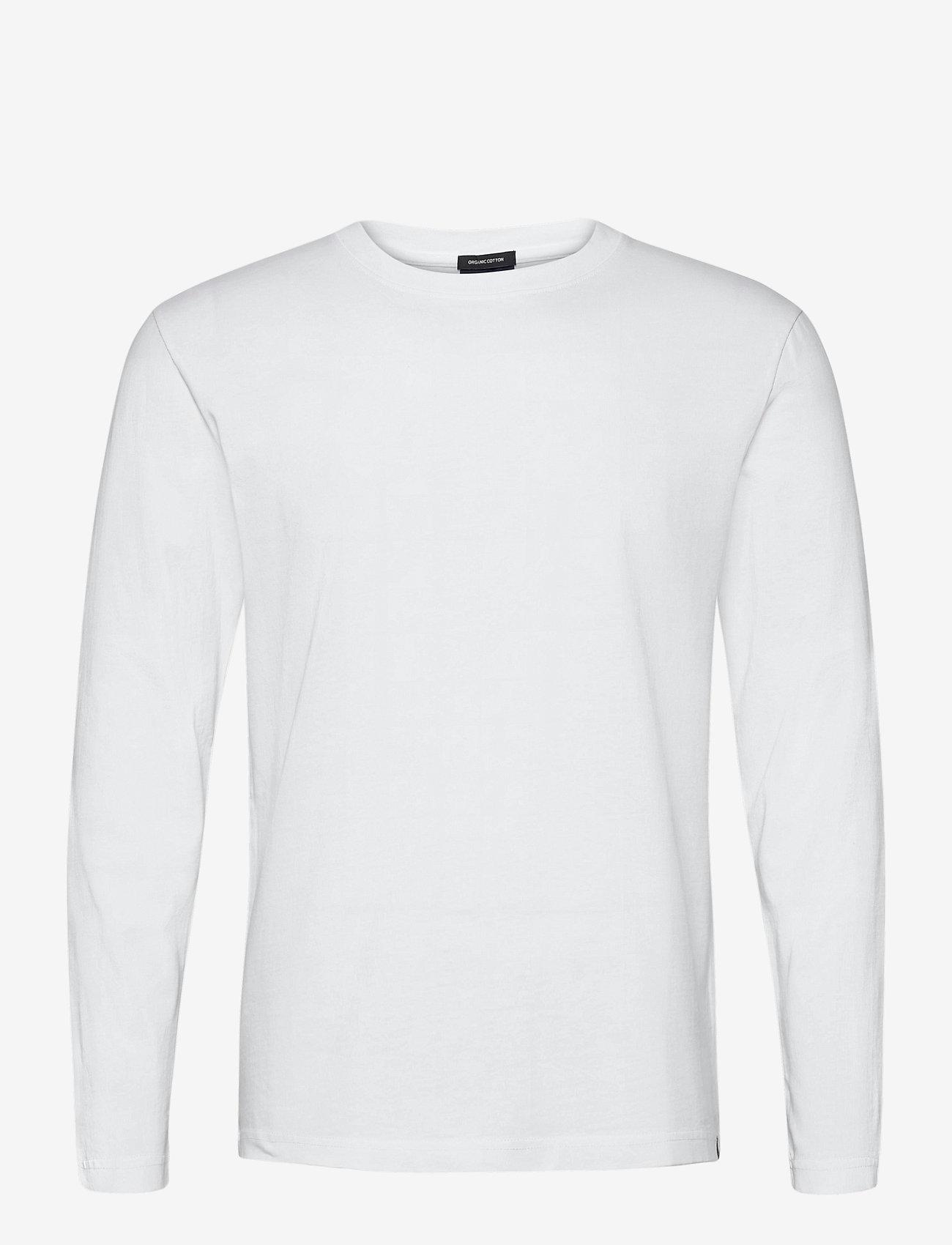 Scotch & Soda - Longsleeve tee in heavy organic cotton - basic t-shirts - denim white - 0