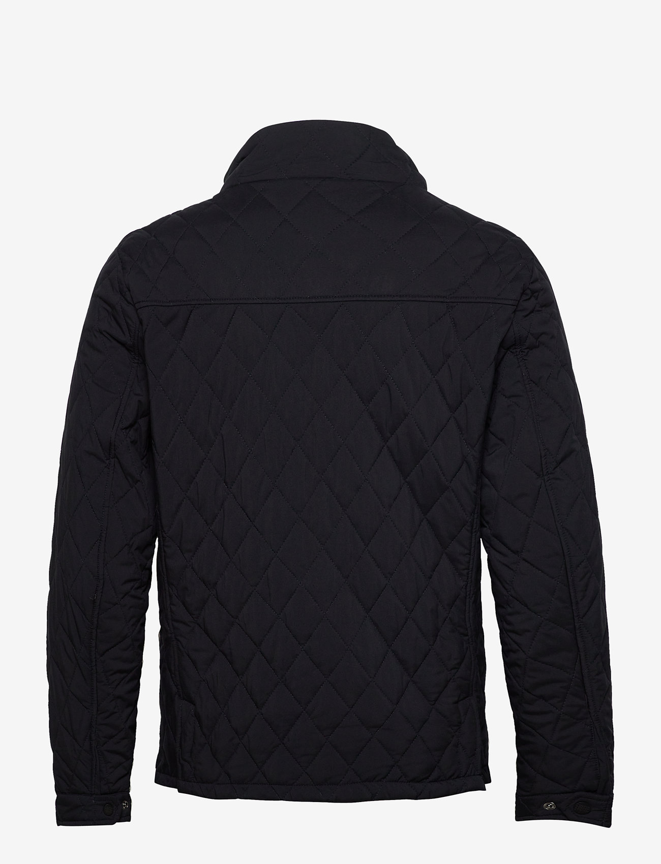Scotch & Soda - Classic short quilted jacket - quilted jackets - night - 1