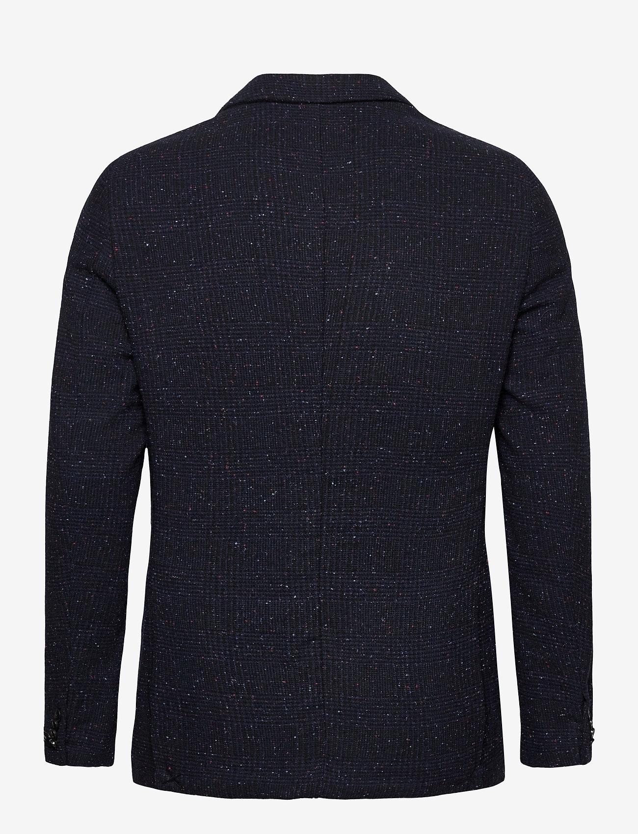 Scotch & Soda - Classic single-breasted neps wool-blend blazer - single breasted blazers - combo a - 1