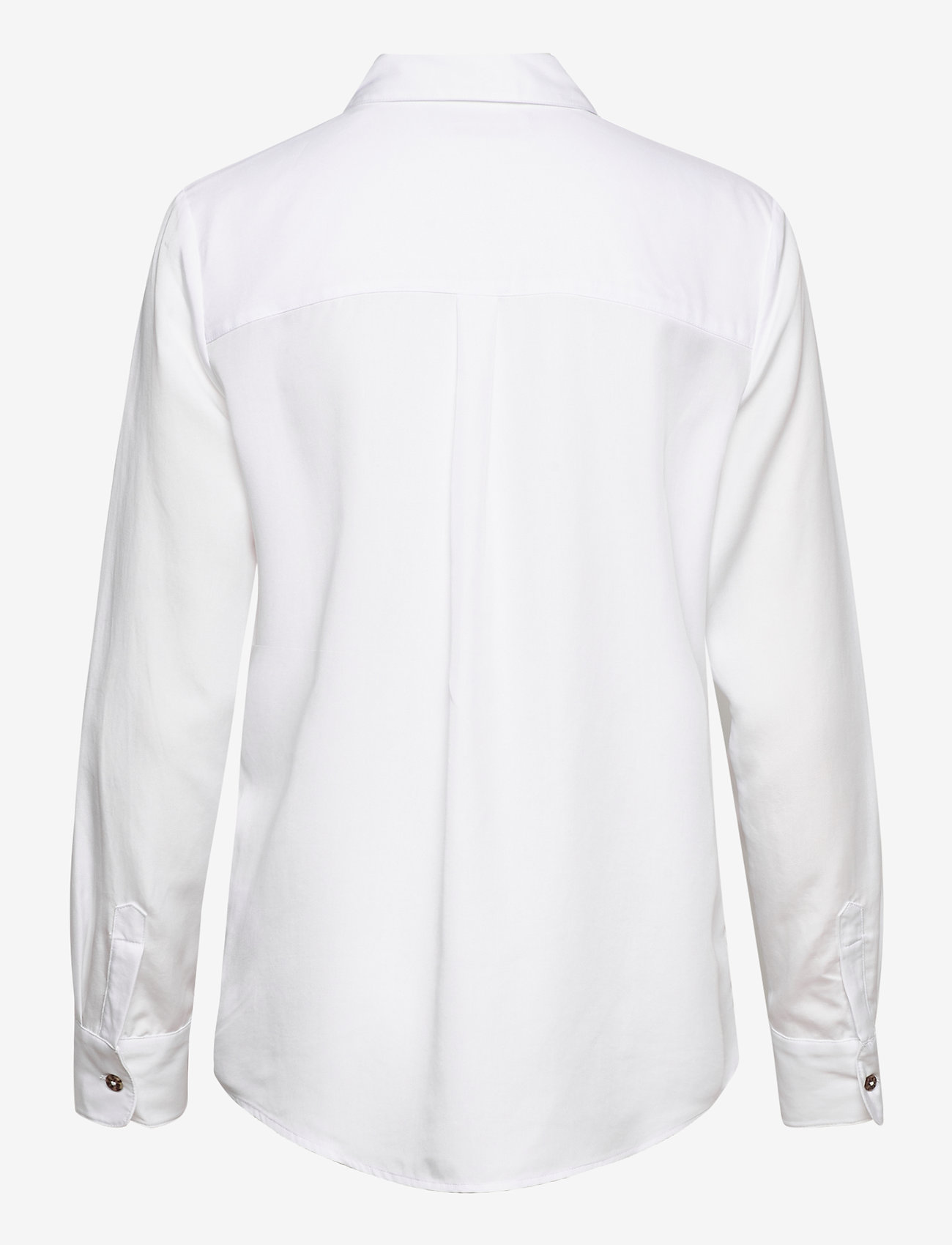 Scotch & Soda - Classic shirt in lyocell quality - chemises à manches longues - white - 1