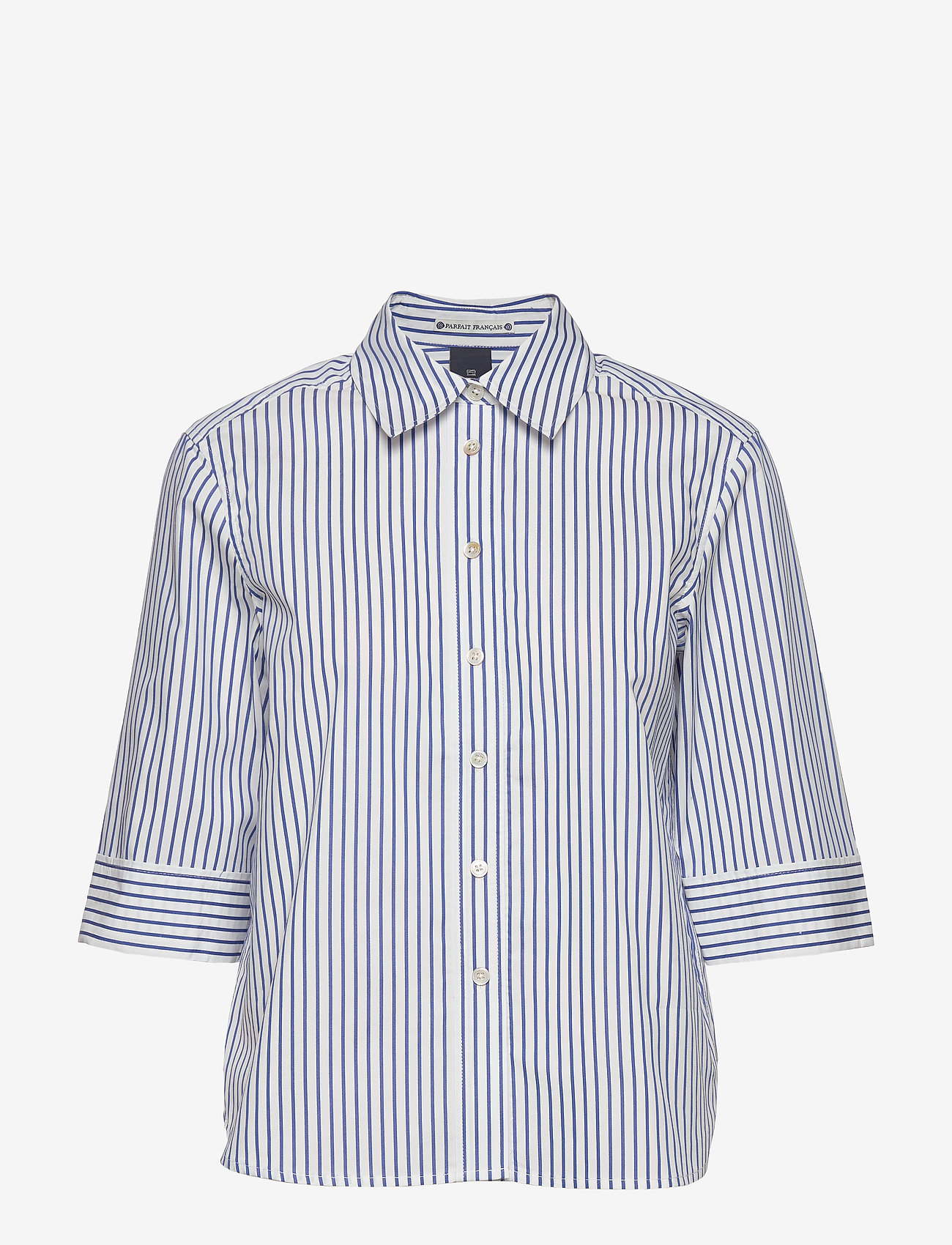 Scotch & Soda - Clean shirt with 3/4 sleeves - chemises à manches longues - combo a - 0