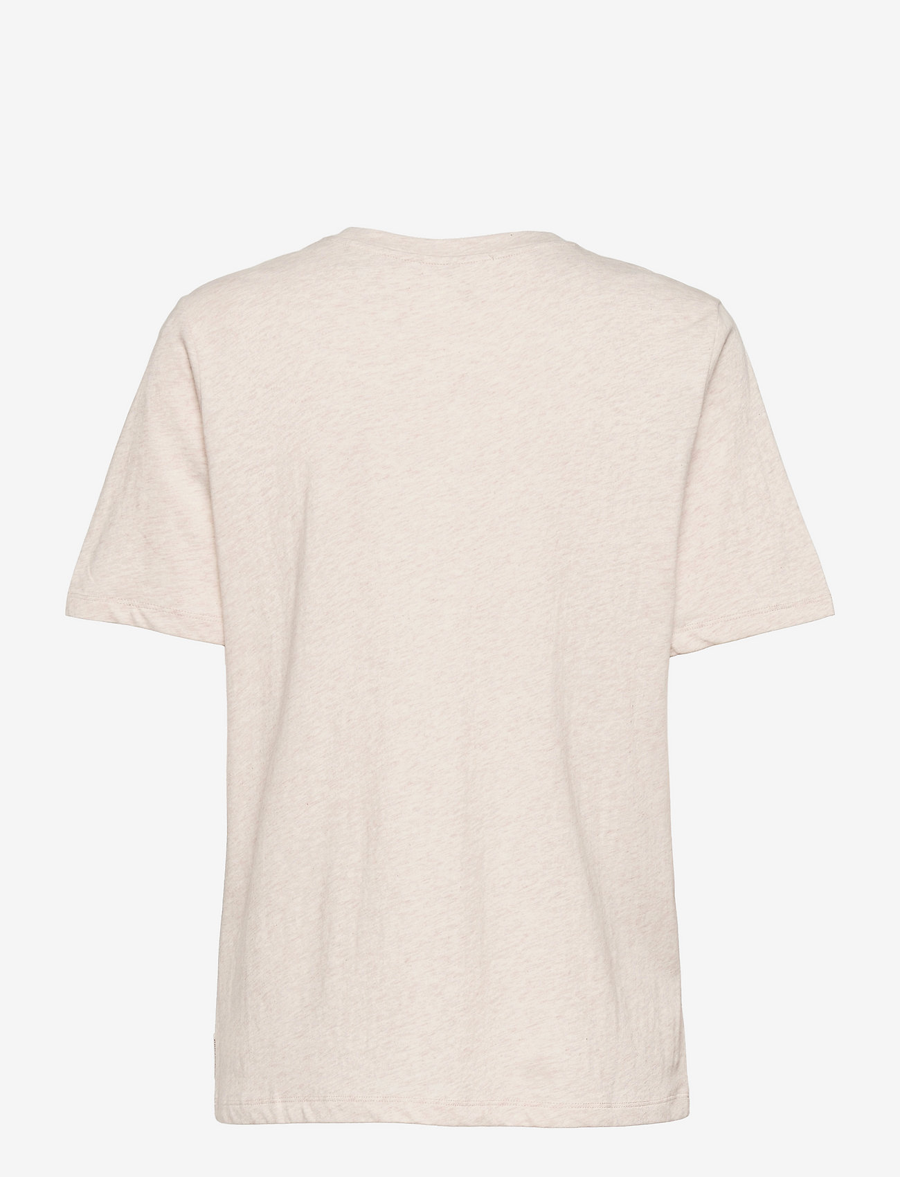Scotch & Soda - Organic cotton tee with graphic - t-shirts - off white melange - 1