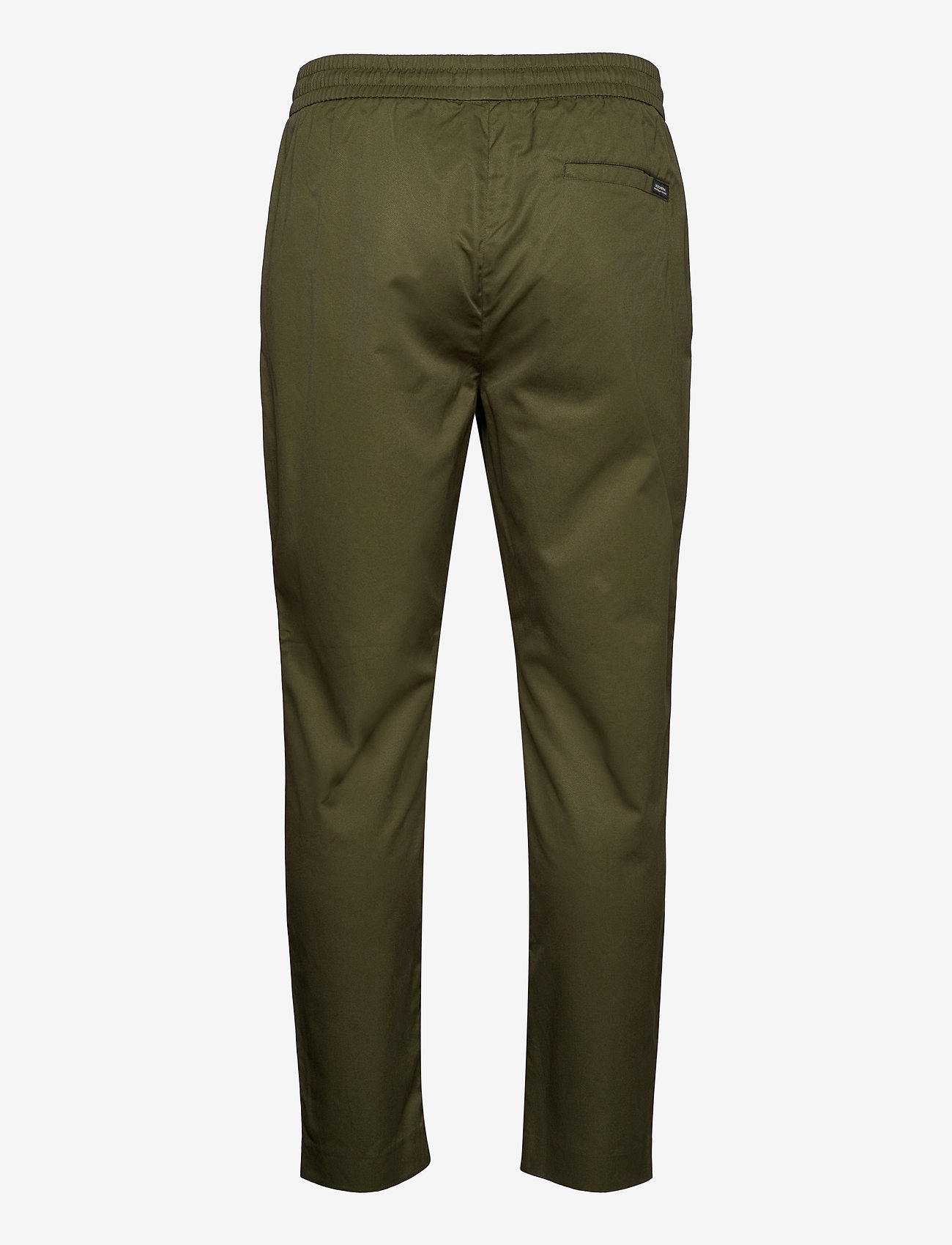 Scotch & Soda - FAVE- Lightweight chino in jogger styling in organic cotton - chino's - army - 1