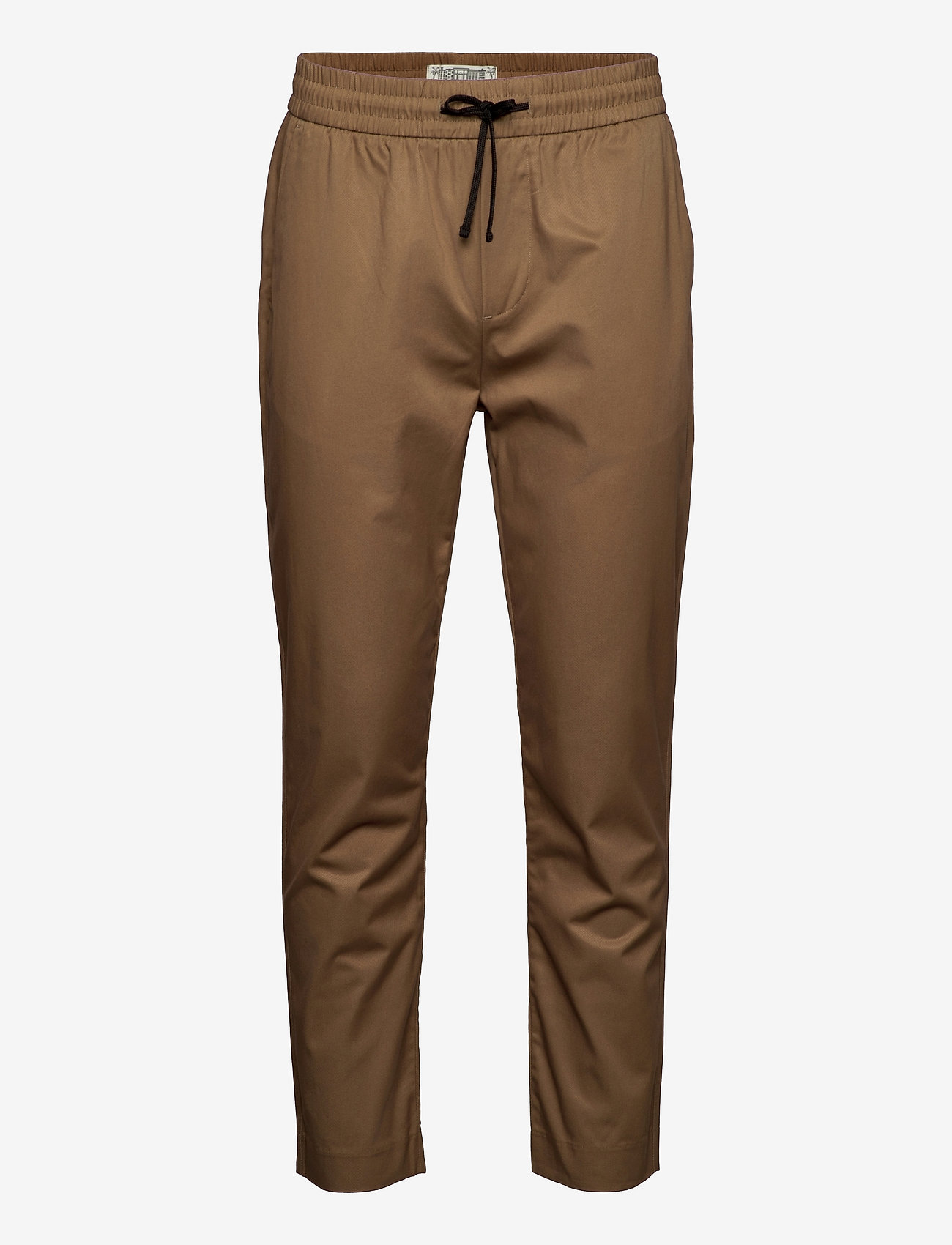 Scotch & Soda - FAVE- Lightweight chino in jogger styling in organic cotton - chino's - sand - 0