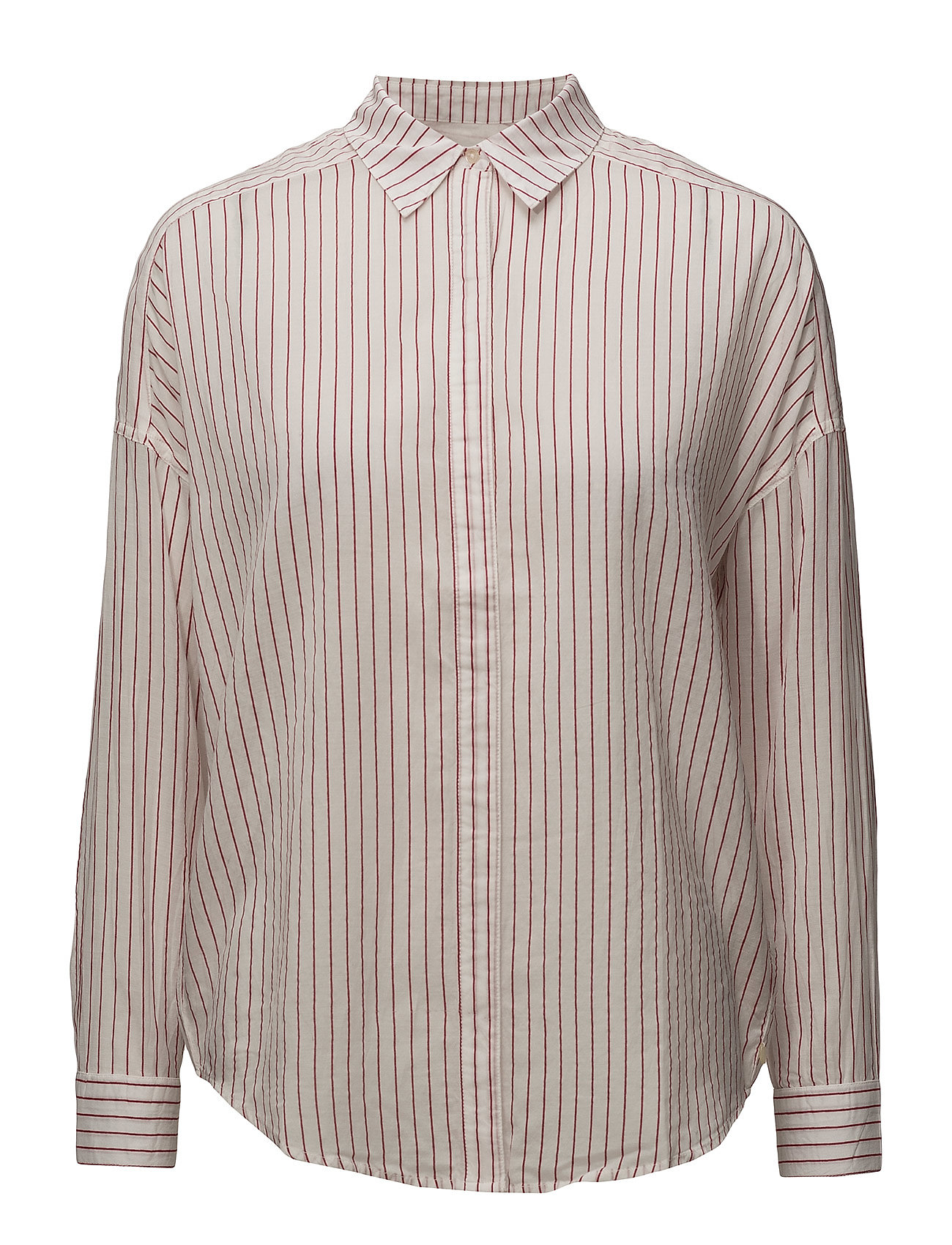 Image of Allover Printed Shirt With Dropped Shoulder (2865816297)
