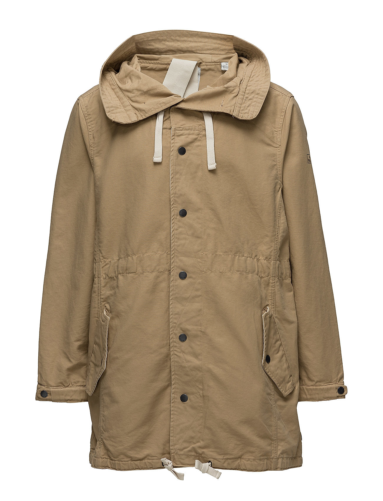 Scotch & Soda Indigo Lamplight parka jacket - KHAKI