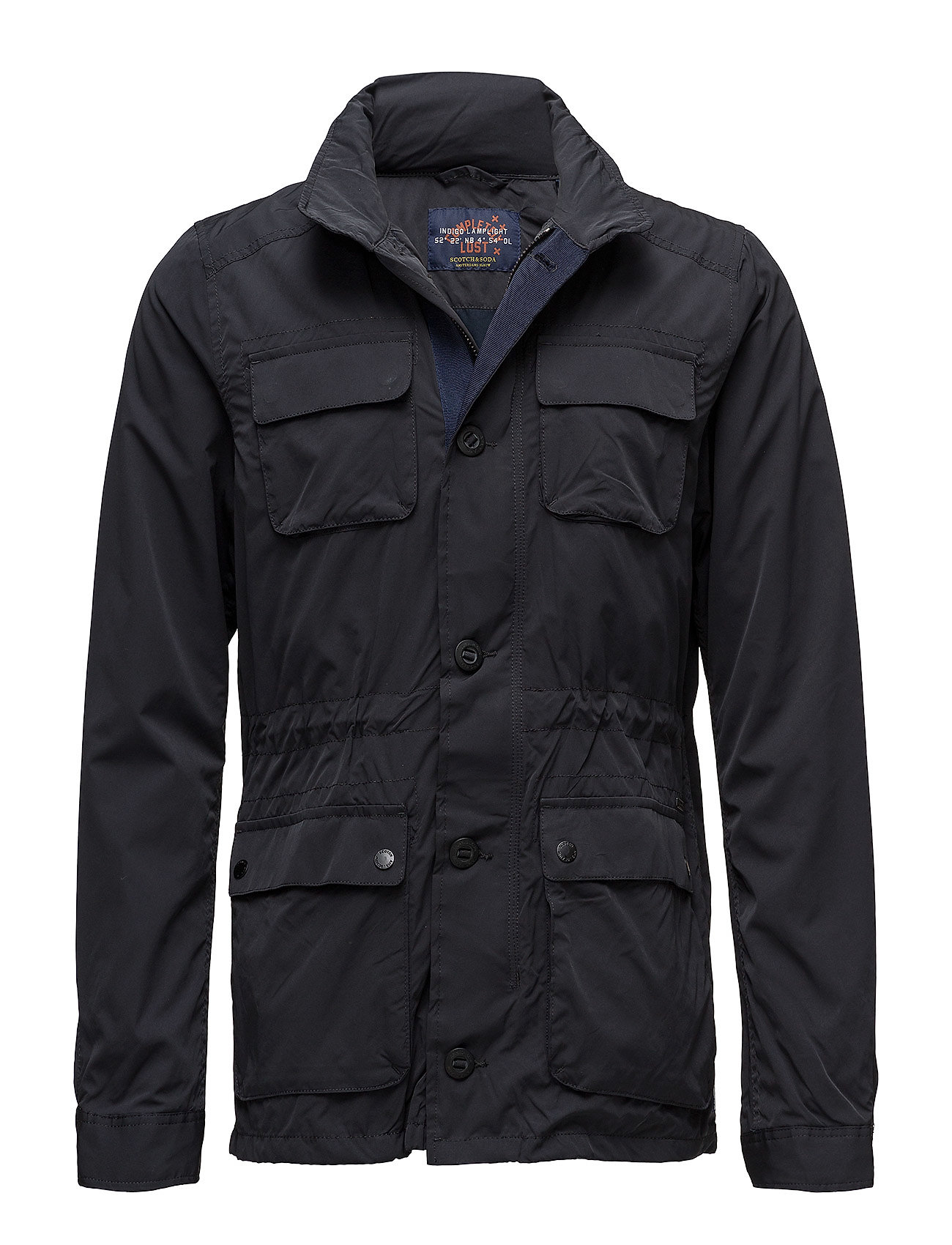 Scotch & Soda Ams blåw 4 pocket military jacket Ytterkläder