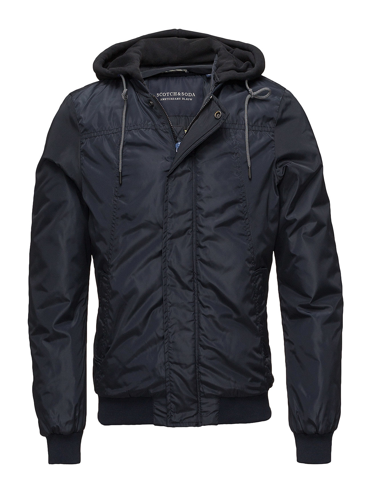 Ams Blauw Worked Out Bomber Jacket