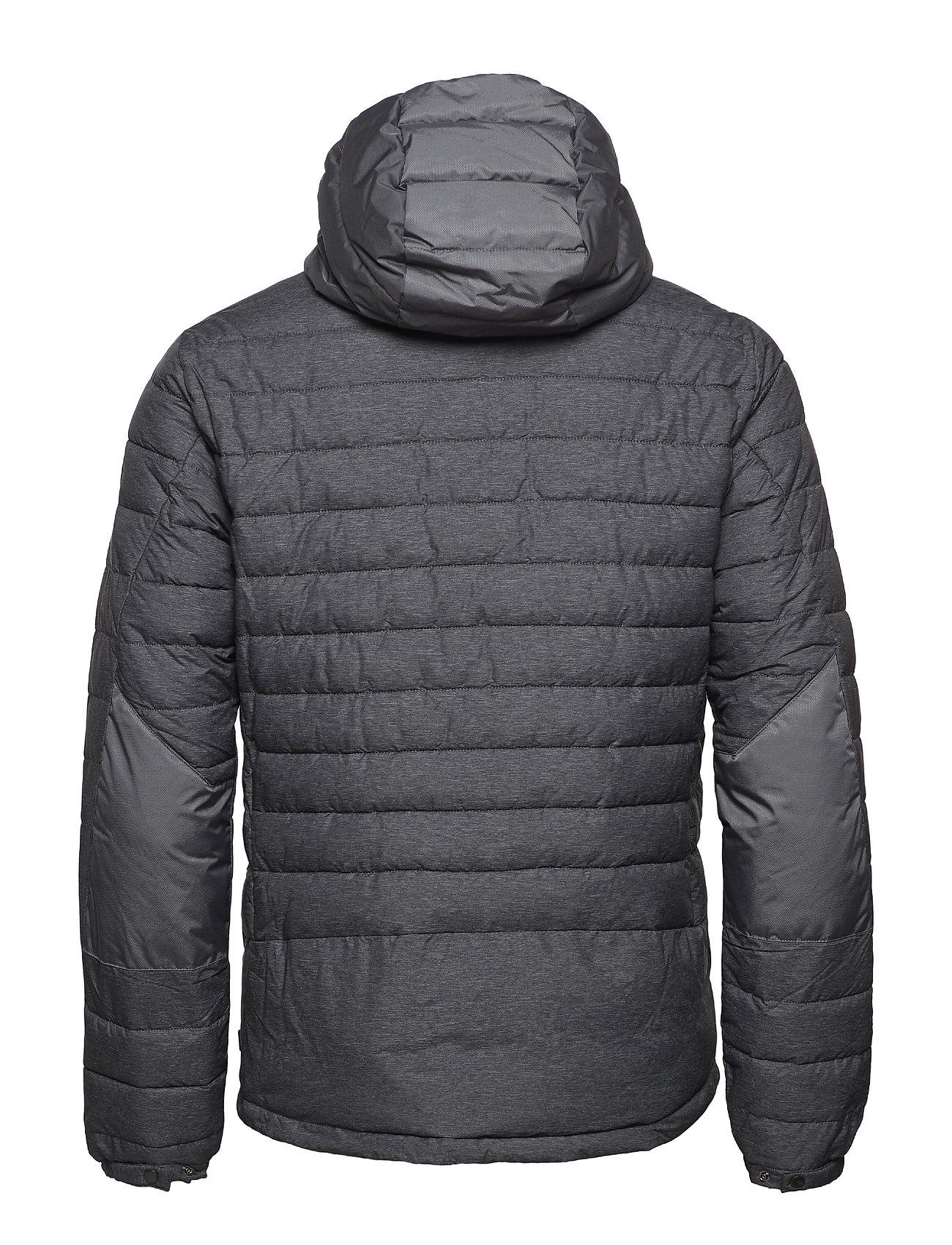 Nylon Jacket Hoodblack MelangeScotchamp; Soda Short Detachable With Quilted SULpqzVMG