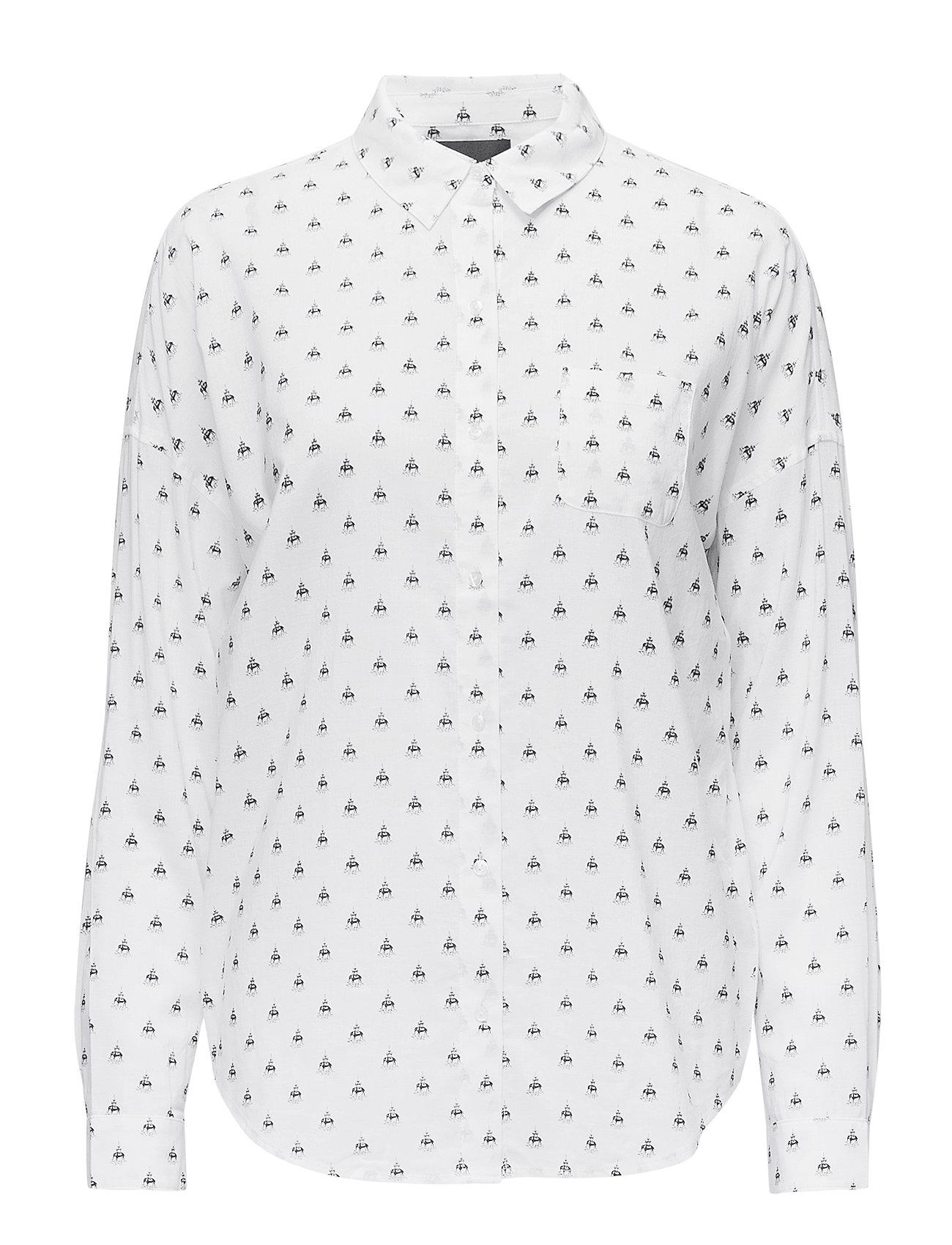 Scotch & Soda Oversized boxy fit cotton viscose shirt in various prints - COMBO M
