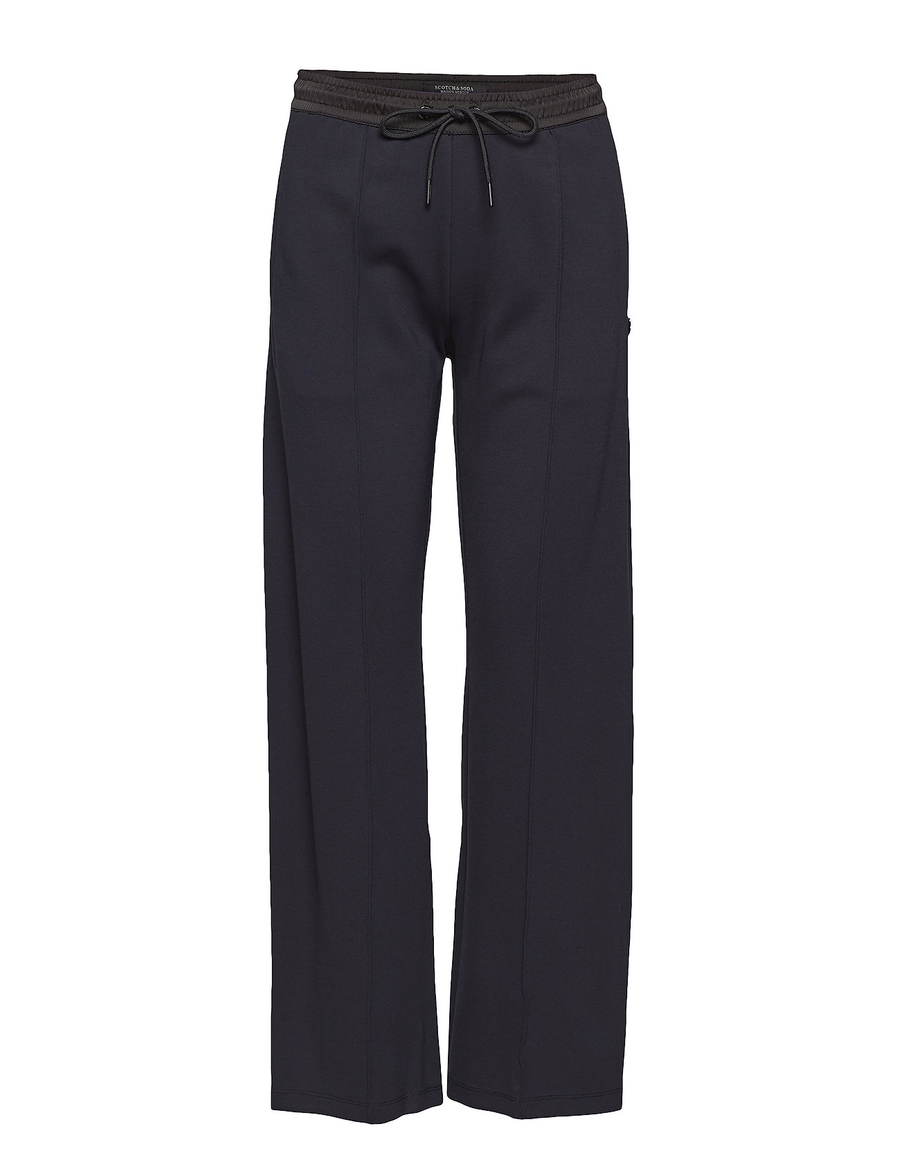 Scotch & Soda Clean sweat pants with contrast woven waistband Byxor