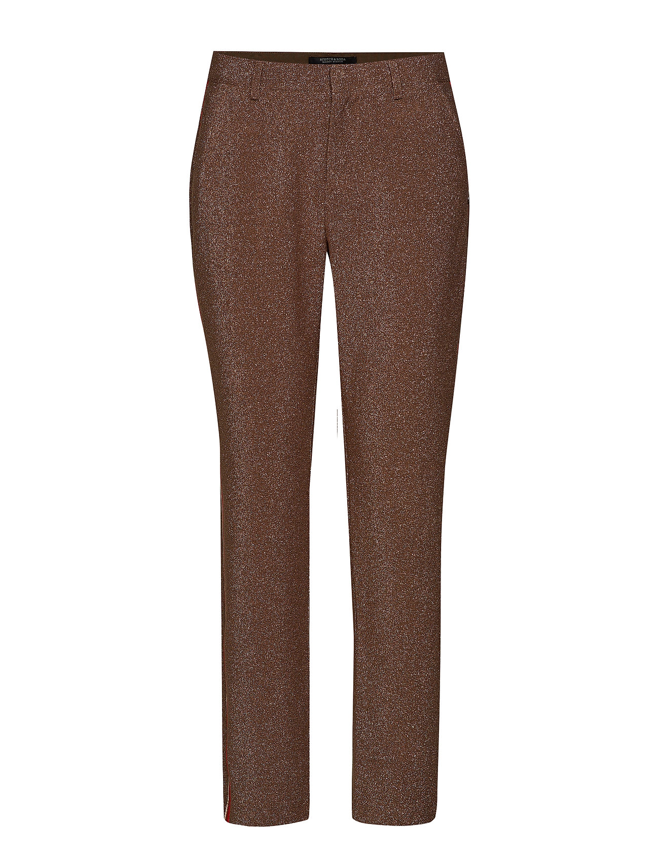Scotch & Soda Lurex tailored pants with tape detail - COMBO A
