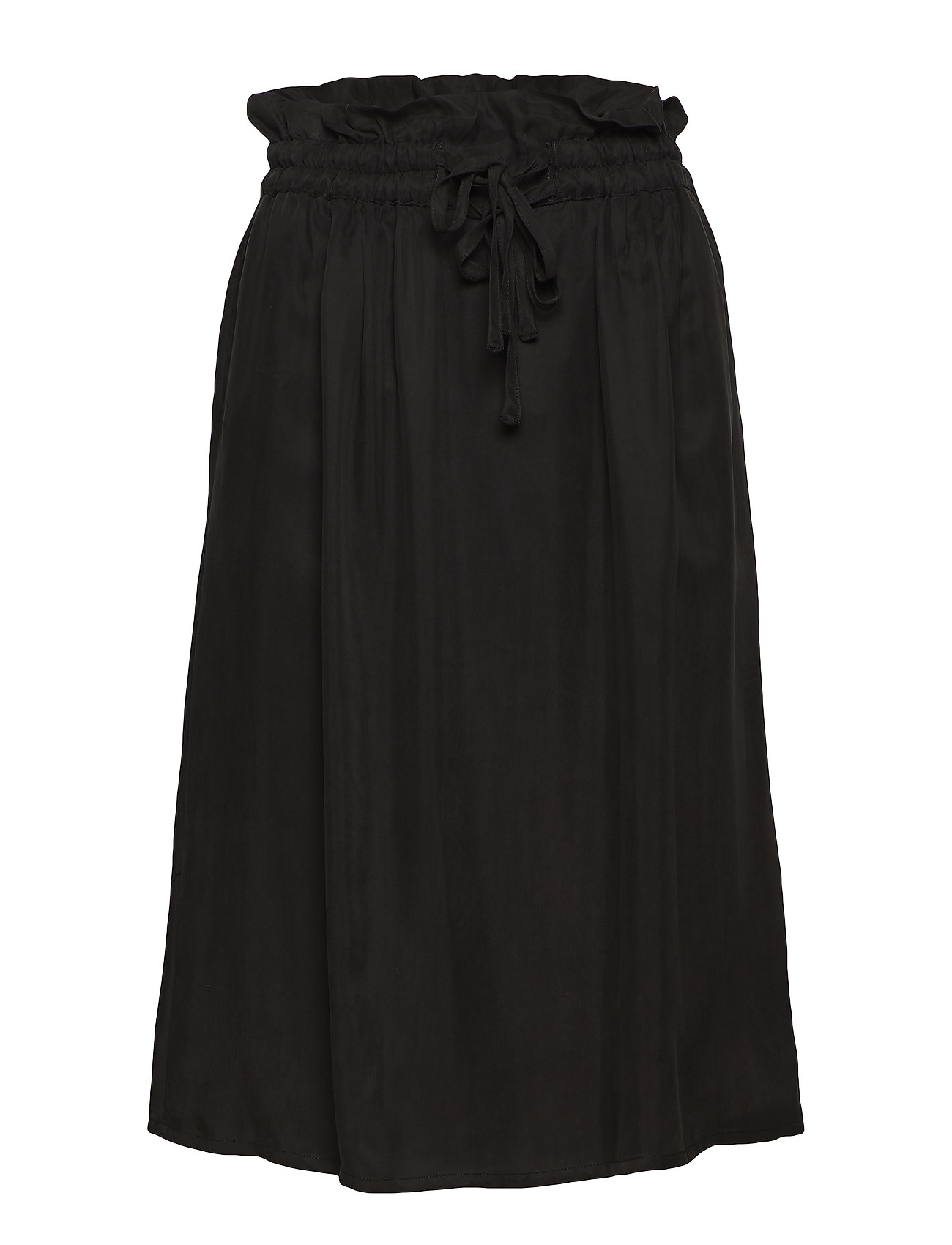 Scotch & Soda Cupro skirt with tie detail at waistband - ANTRA
