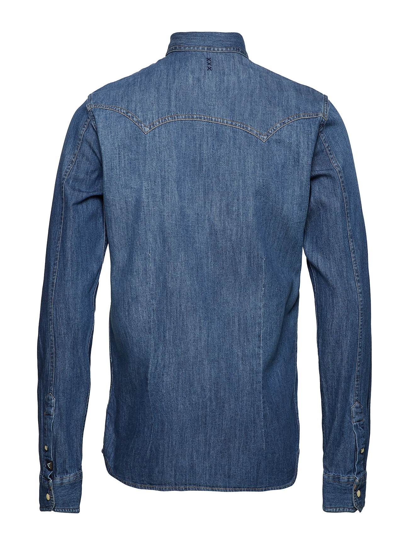Soda Ams Shirtwashed IndigoScotchamp; Easy Blauw Western OkiXPZu