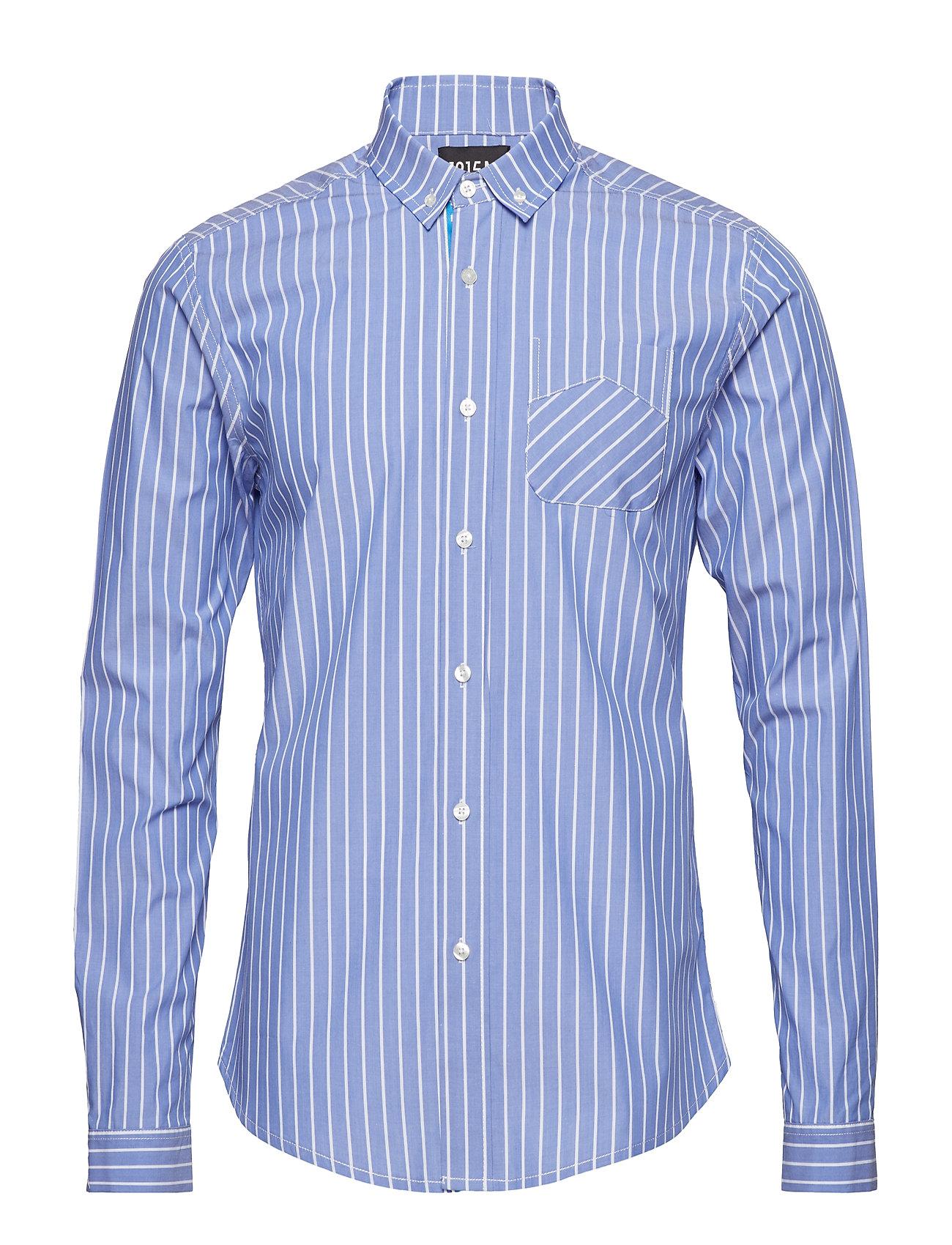 Scotch & Soda Ams Blauw premium dress shirt - COMBO B