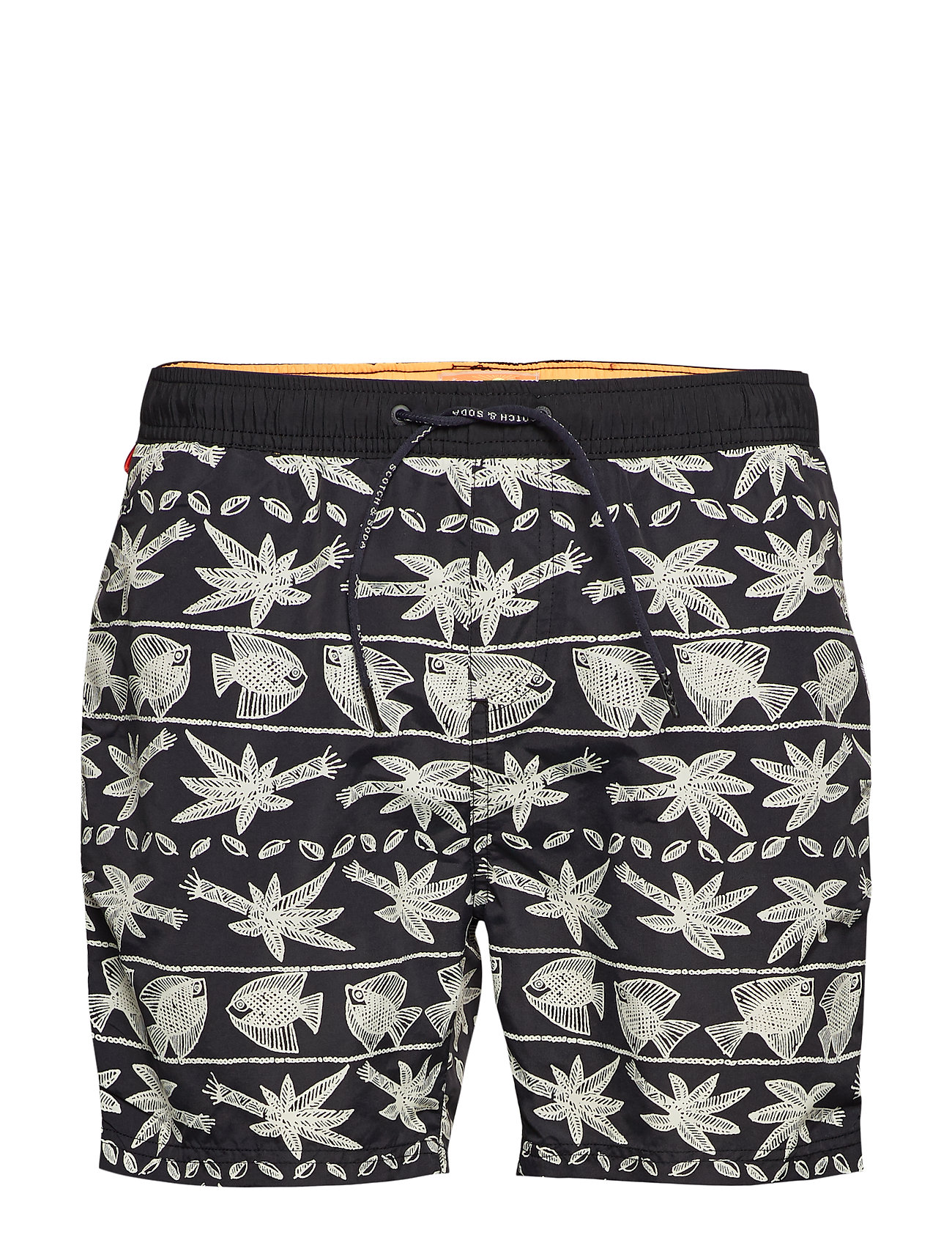 Scotch & Soda Classic swimshort with summer all-over print - COMBO D