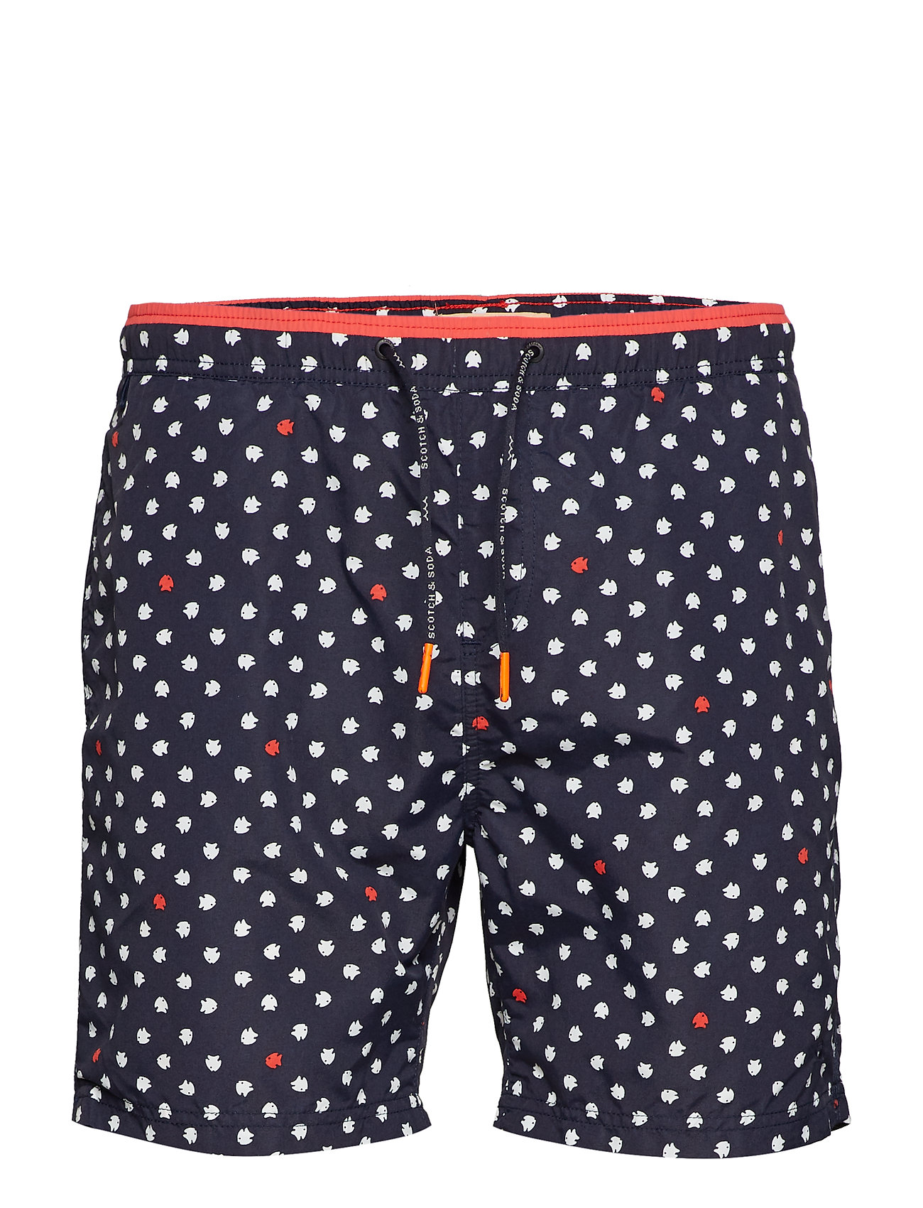 a2f38653b3 Scotch & Soda Bright swimshort with contrast waistband - Swimwear