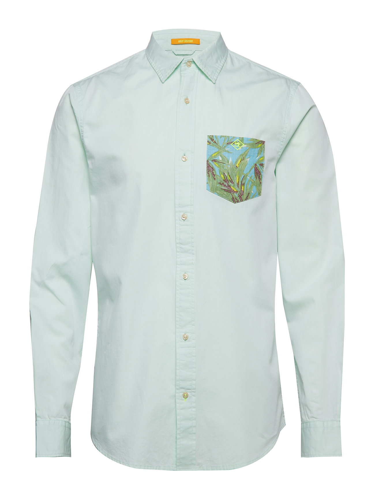 Scotch & Soda RELAXED FIT Lightweight summer shirt Ögrönlar
