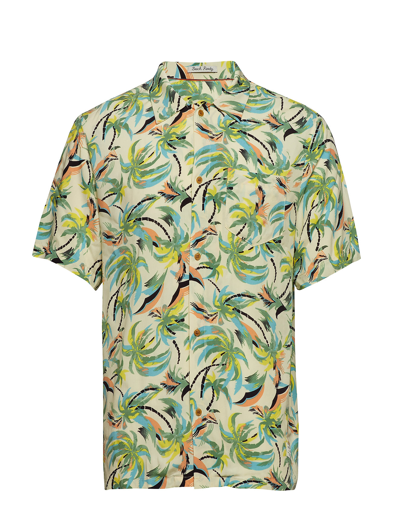 Scotch & Soda HAWAIIAN FIT - Printed shortsleeve shirt - COMBO B