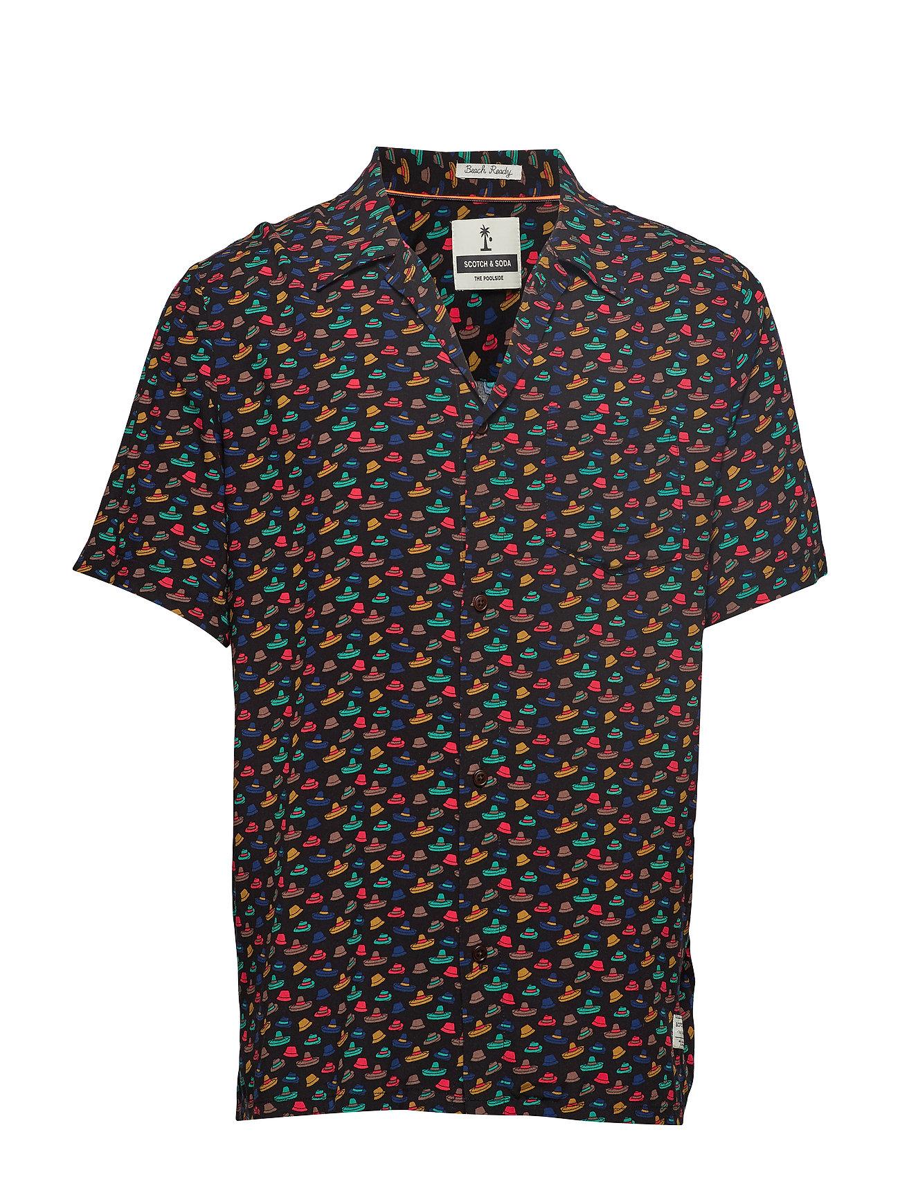 Scotch & Soda HAWAIIAN FIT - Printed shortsleeve shirt - COMBO C